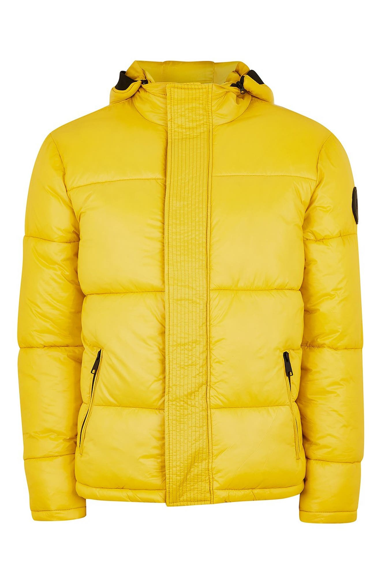 Capi Classic Fit Puffer Jacket,                             Alternate thumbnail 5, color,                             YELLOW