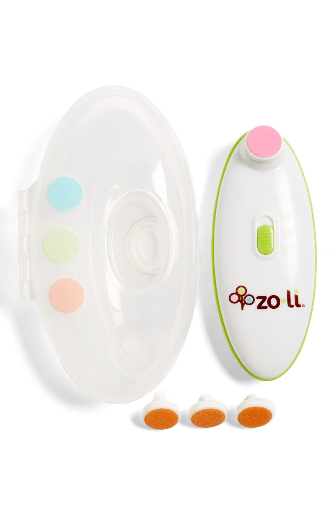 'BUZZ B.<sup>™</sup>' Nail Trimmer, Replacement Pads & Storage Case,                             Alternate thumbnail 2, color,                             000