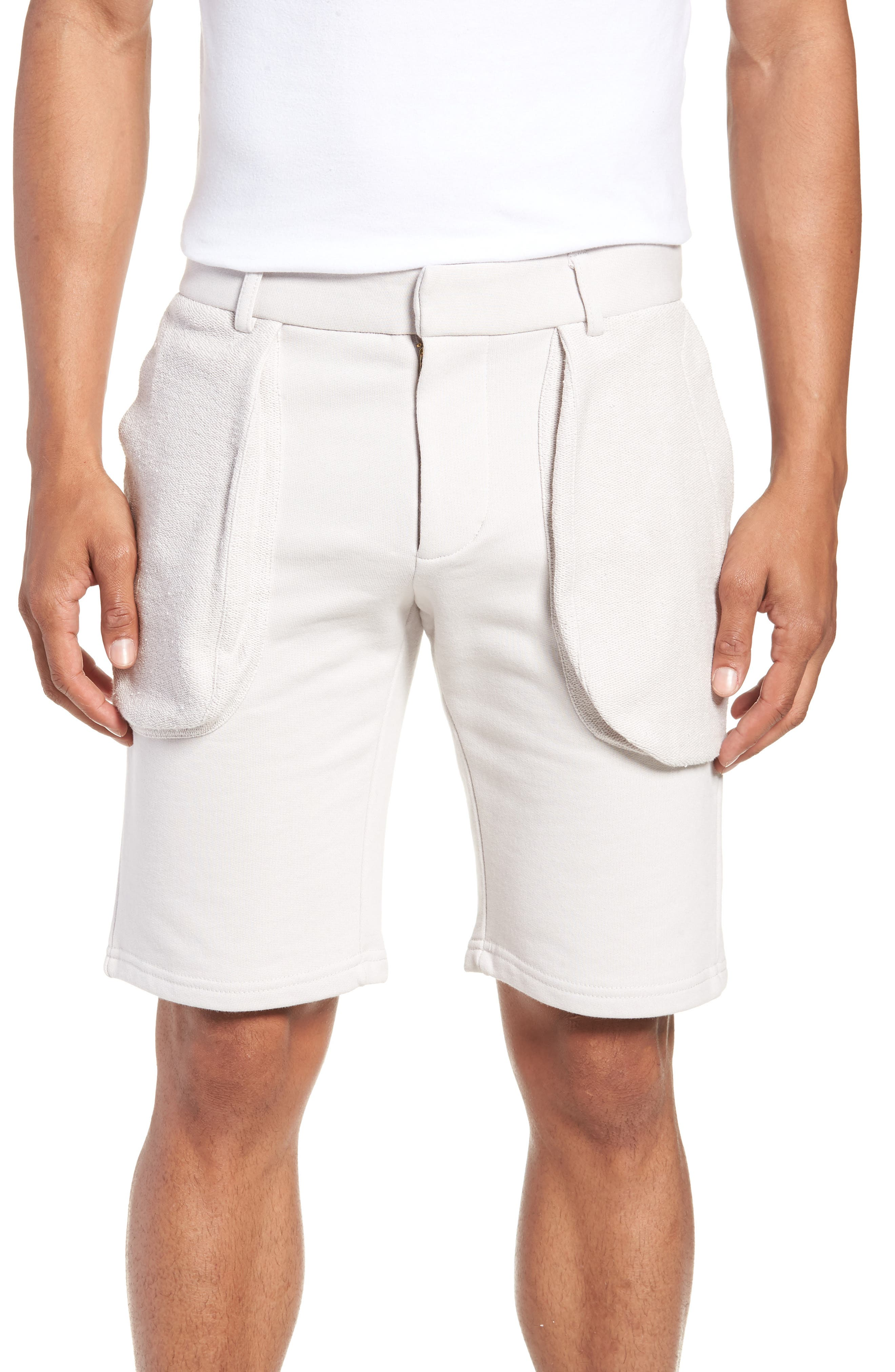 Lvlxiii Cargo Shorts, Purple