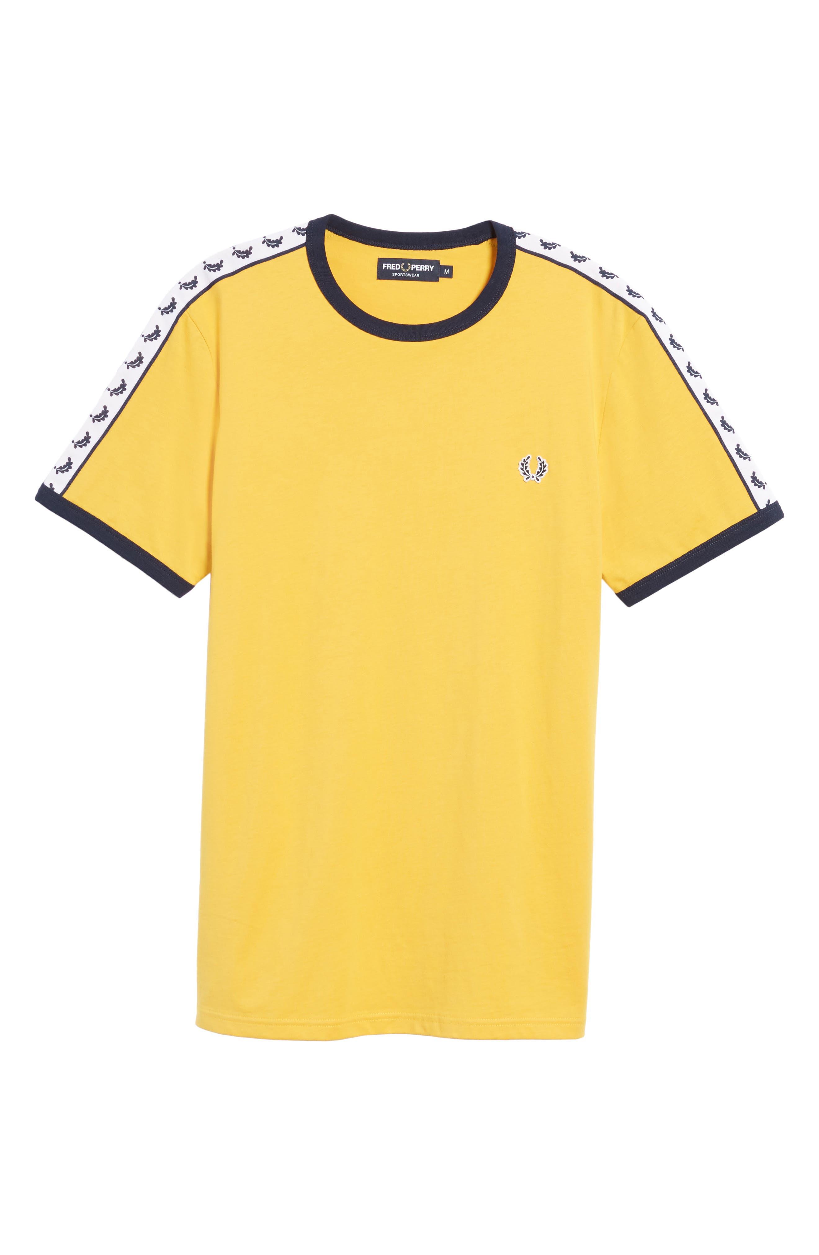 Extra Trim Fit Cotton Ringer T-Shirt,                             Alternate thumbnail 37, color,