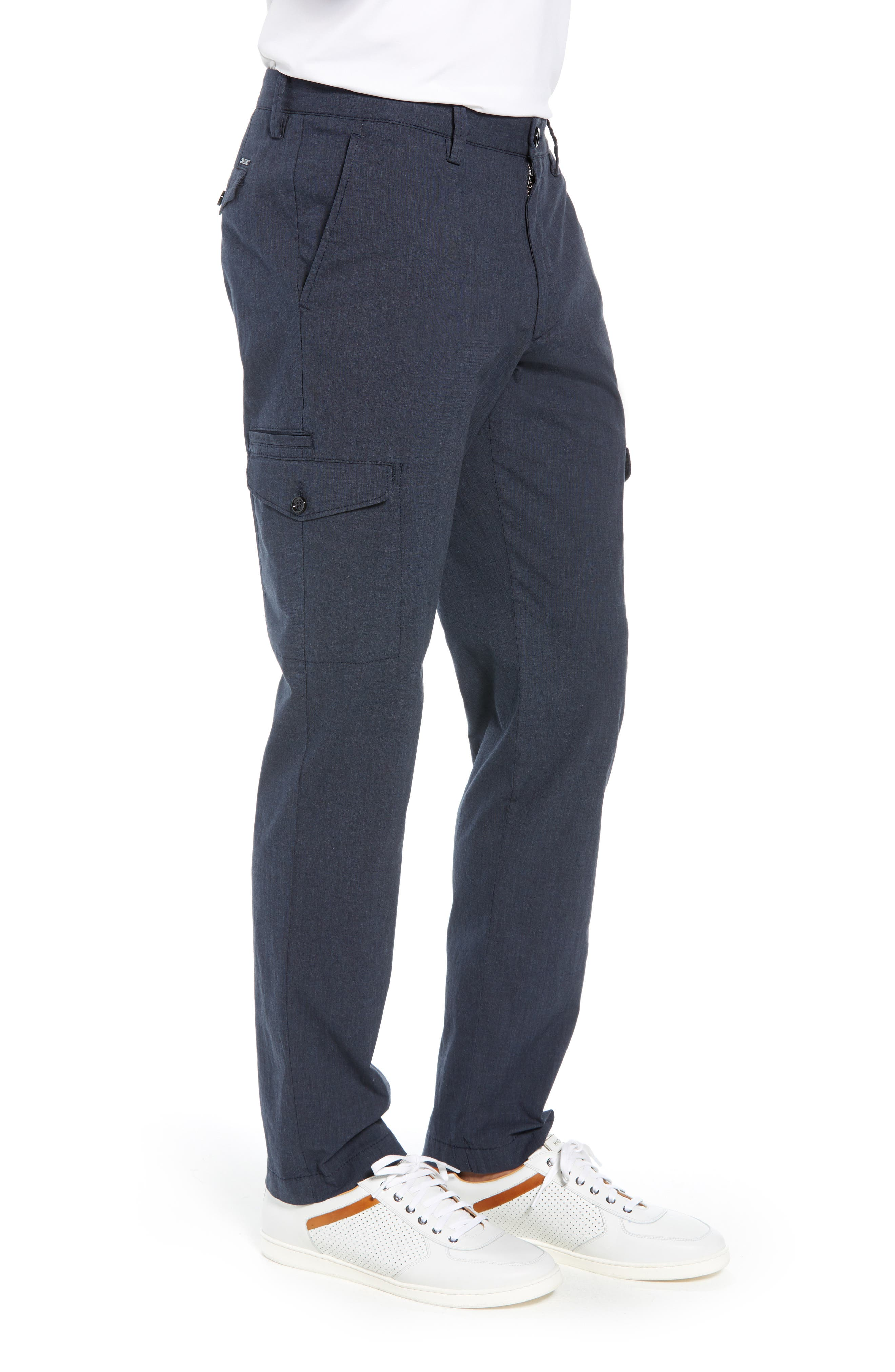 Kailo Slim Fit Cargo Pants,                             Alternate thumbnail 3, color,                             480