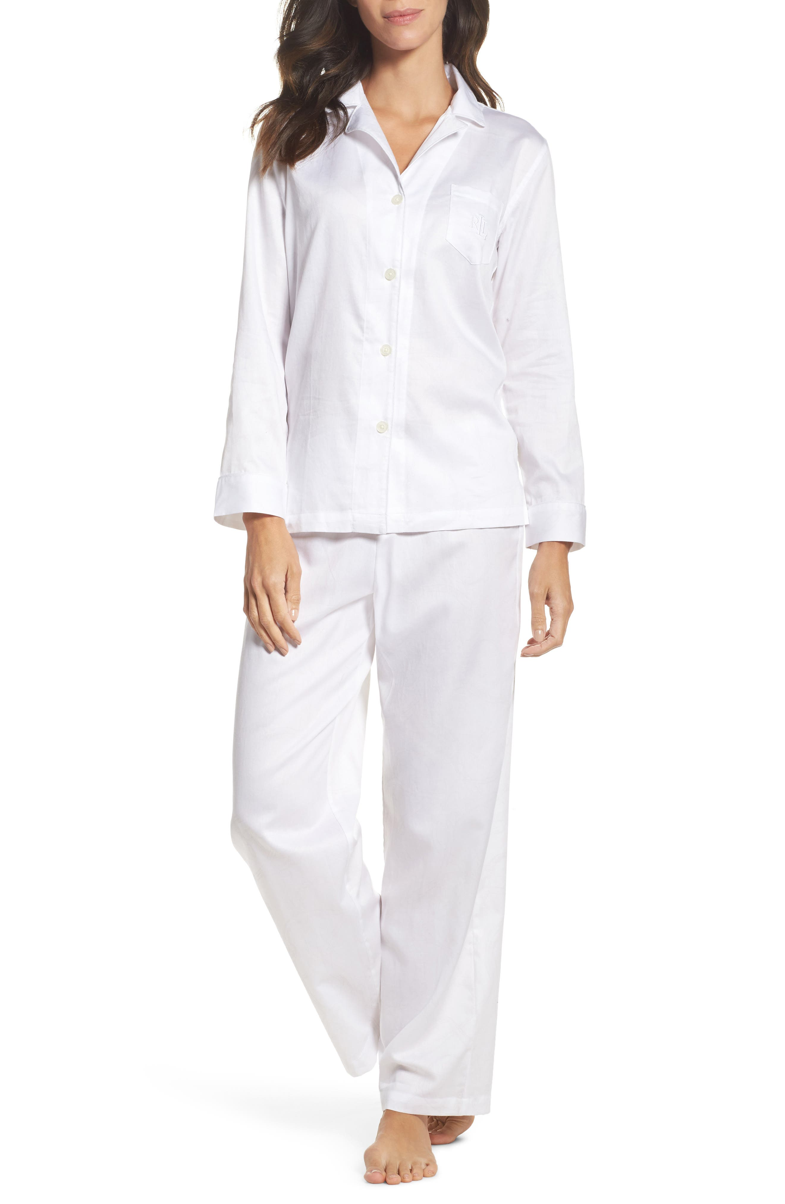 Cotton Pajamas,                             Main thumbnail 1, color,