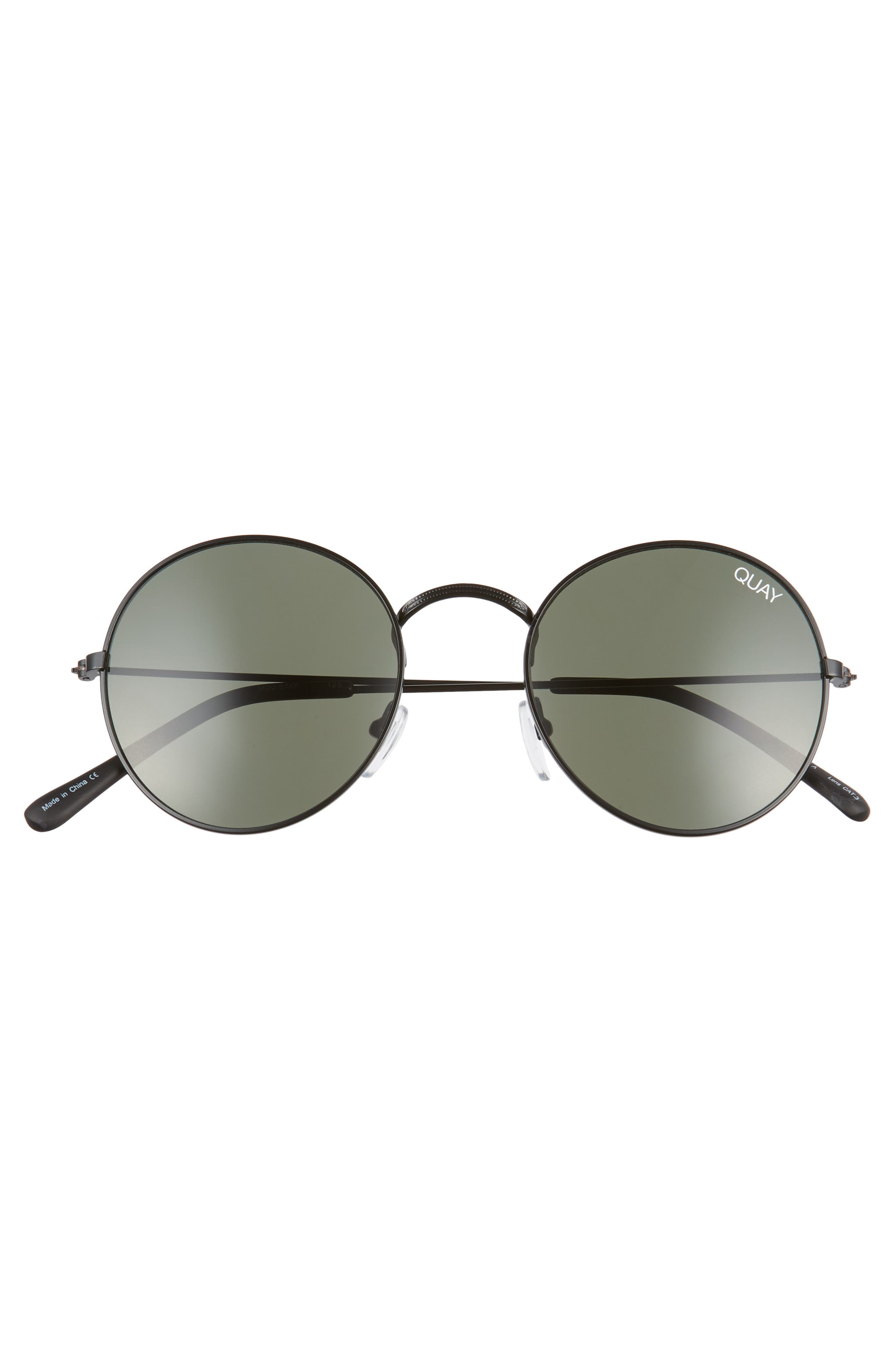 50mm Mod Star Round Sunglasses,                             Alternate thumbnail 3, color,                             014