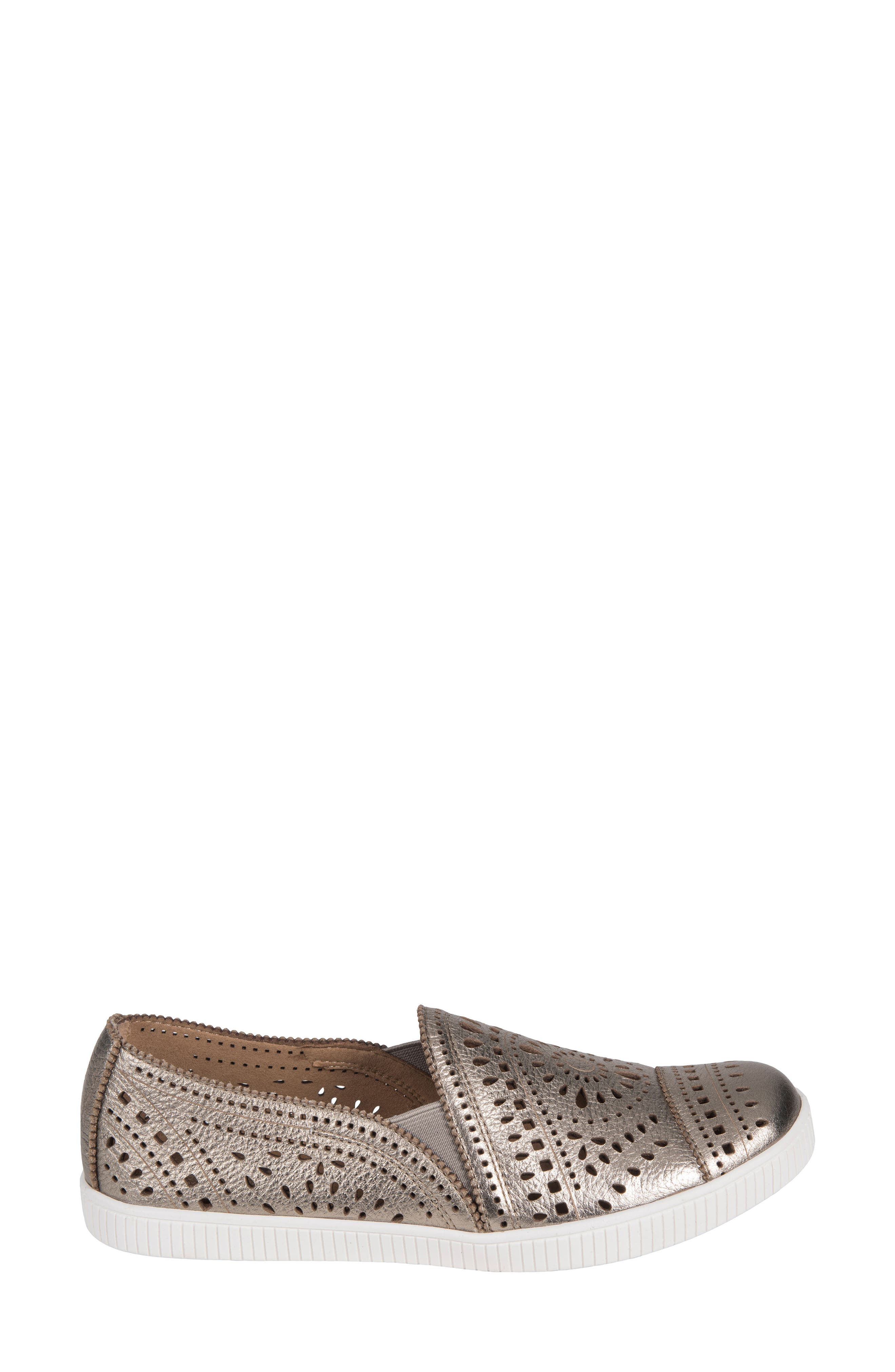Tayberry Perforated Slip-On Sneaker,                             Alternate thumbnail 12, color,
