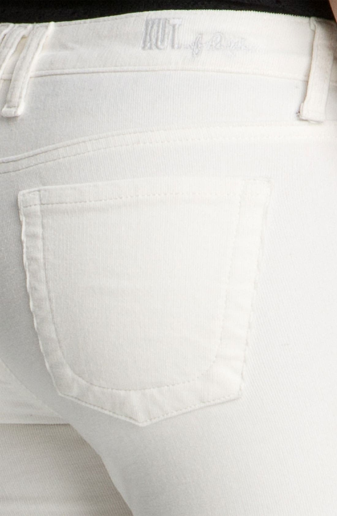 'Diana' Stretch Corduroy Skinny Pants,                             Alternate thumbnail 153, color,