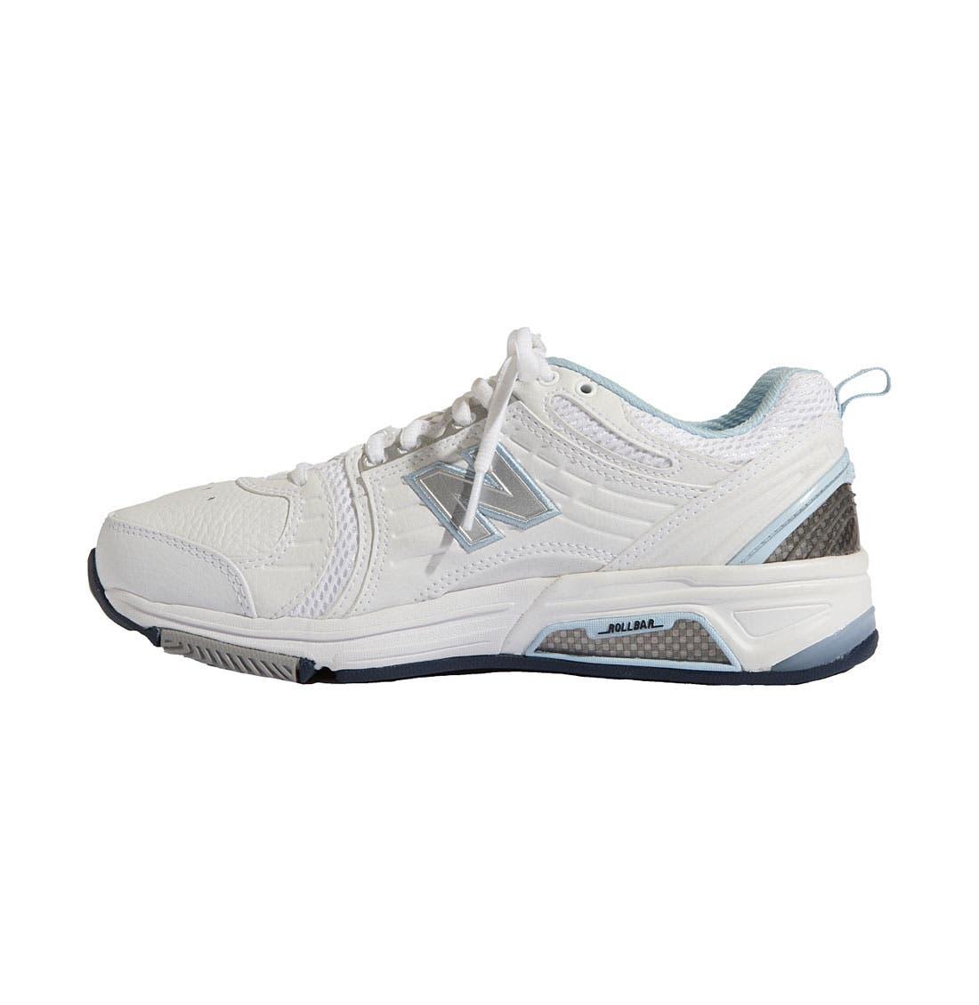 NEW BALANCE,                             '856' Training Shoe,                             Alternate thumbnail 3, color,                             110