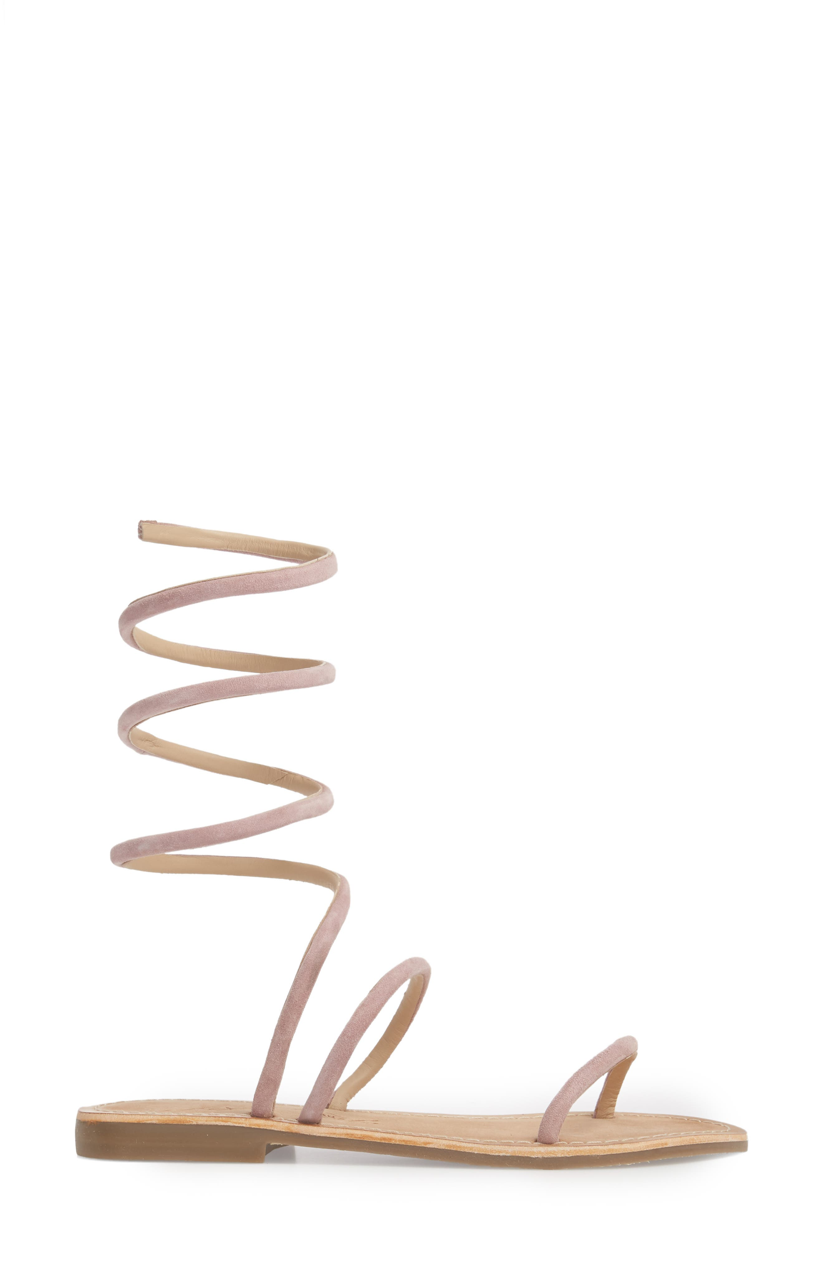 Havana Wraparound Gladiator Sandal,                             Alternate thumbnail 9, color,