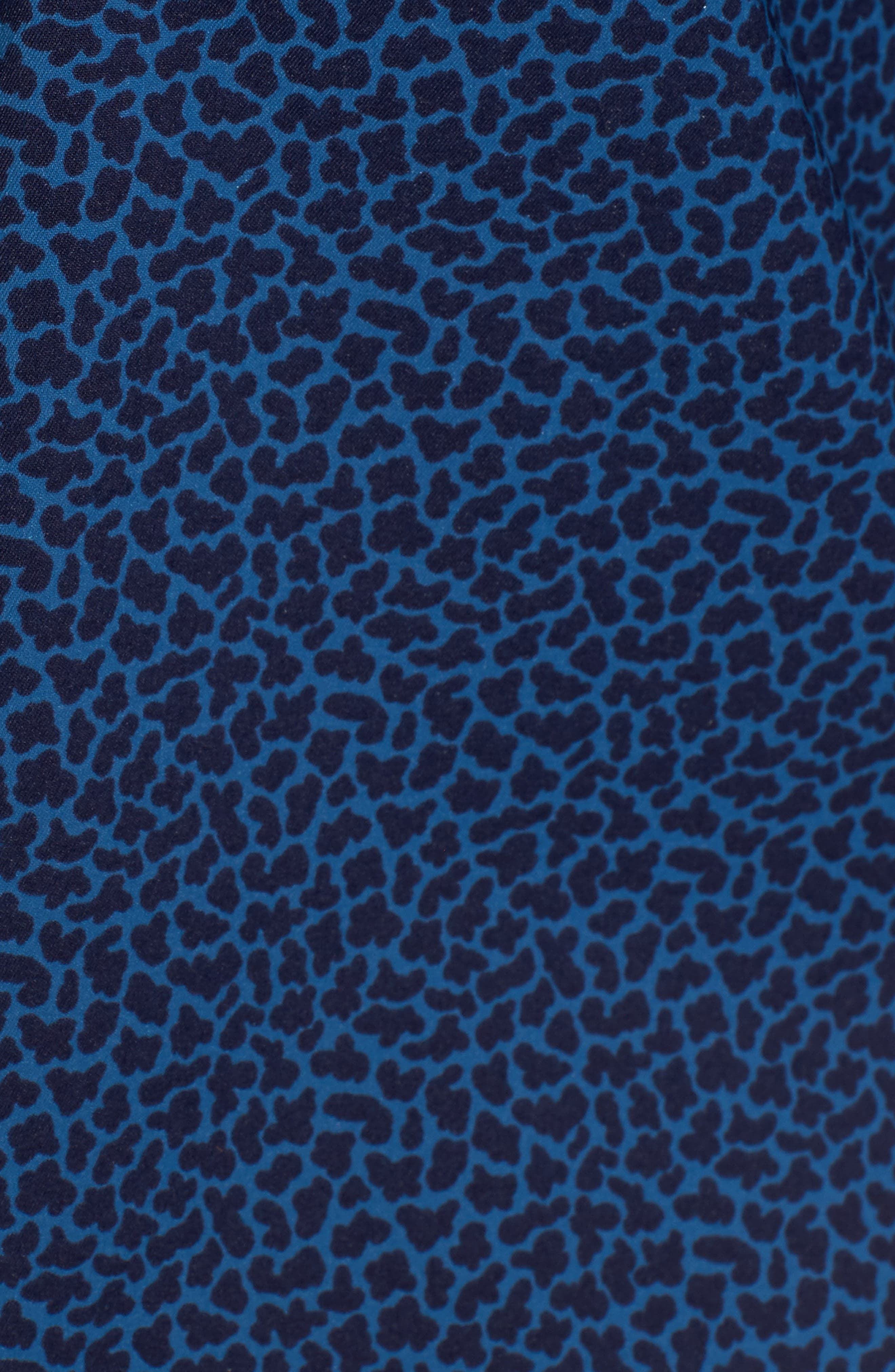 Townson Regular Fit Mini Camo Performance Sport Shirt,                             Alternate thumbnail 5, color,                             400