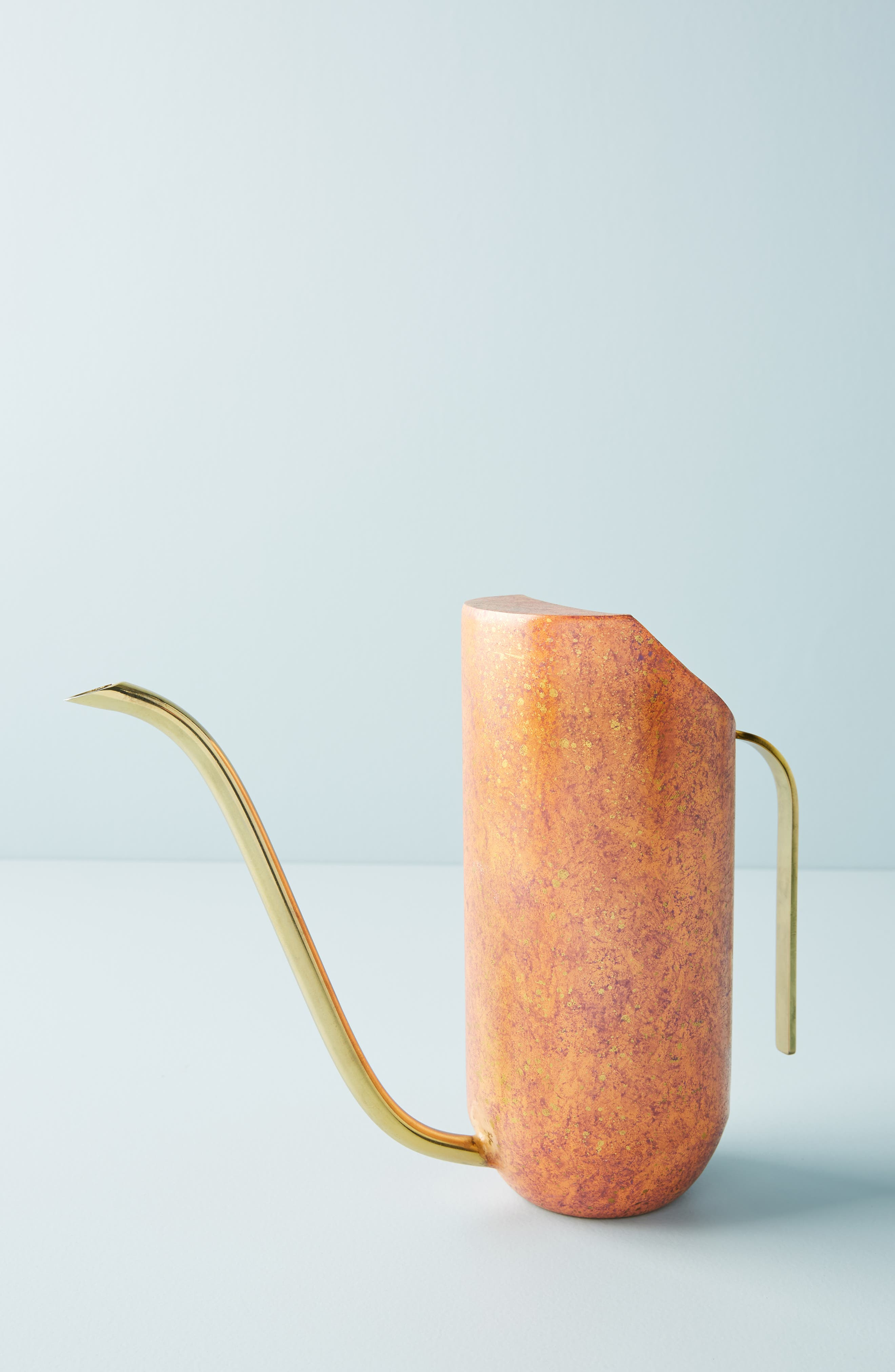 ANTHROPOLOGIE Ursula Watering Can, Main, color, COPPER