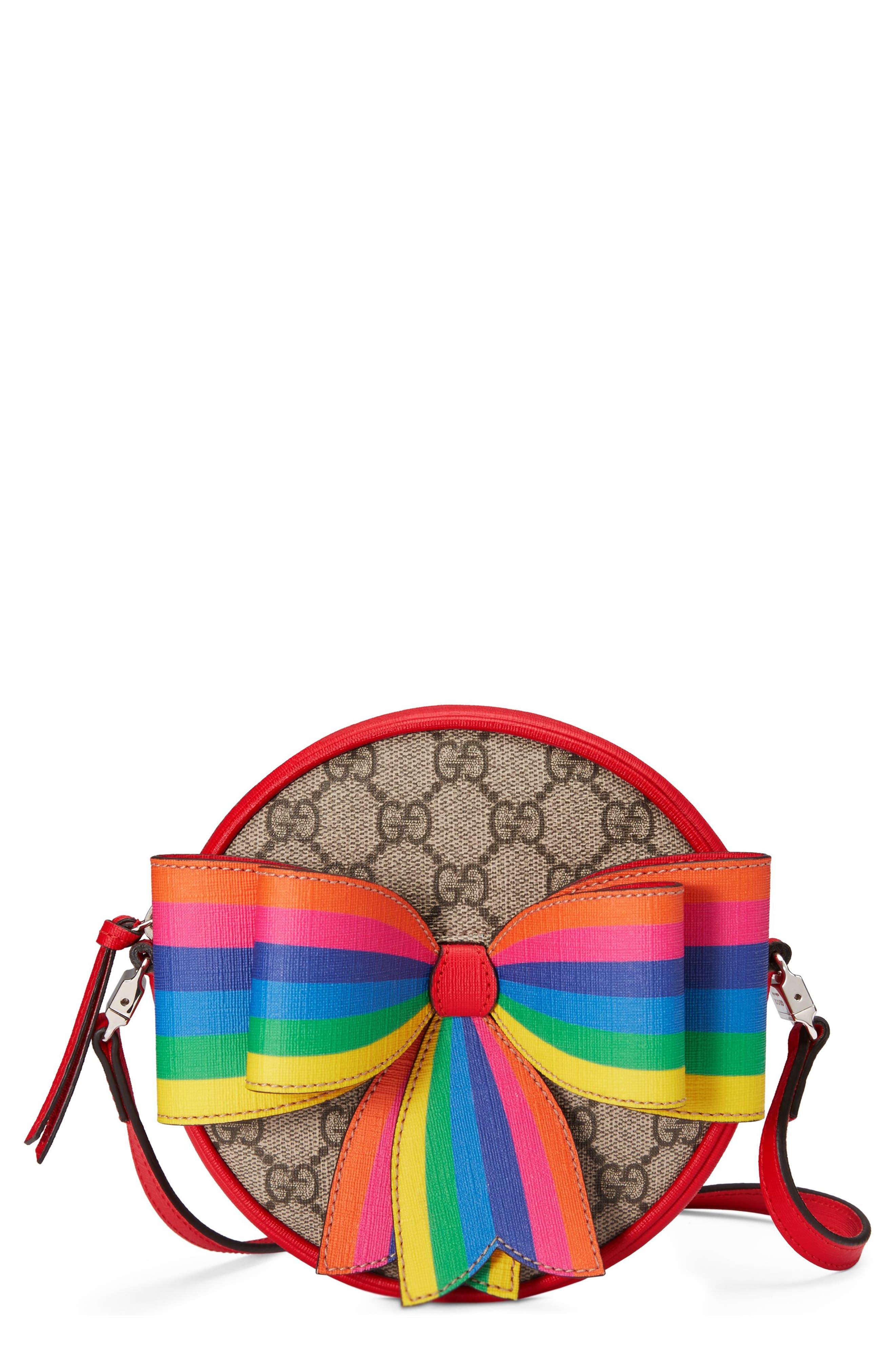 Girls Gucci Borsa Crossbody Bag  Beige