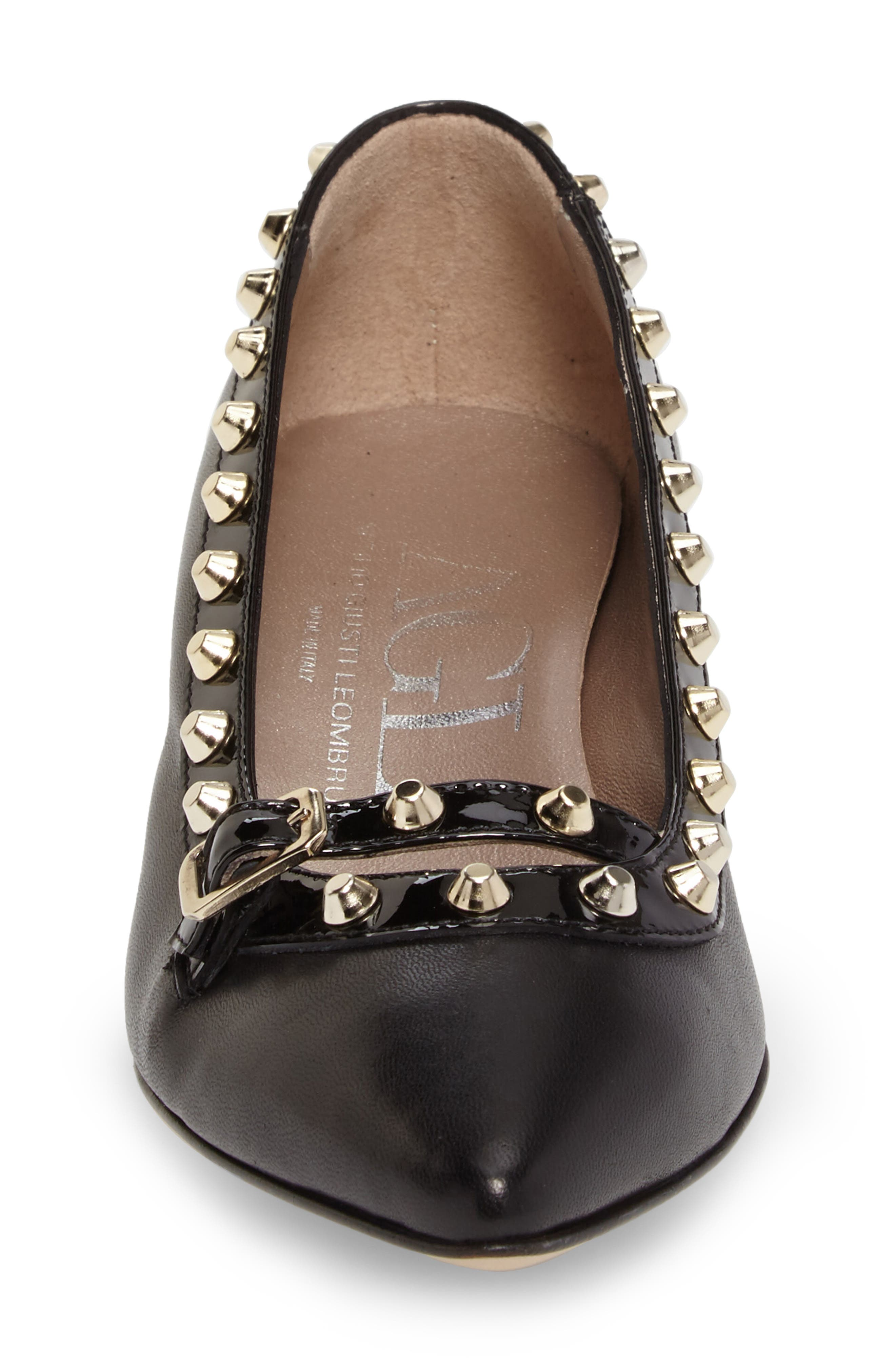 Studded Mary Jane Pump,                             Alternate thumbnail 7, color,