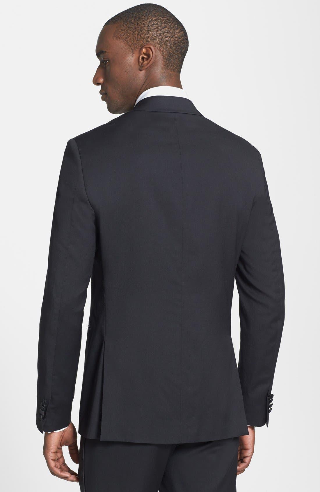 THEORY,                             'Wellar PE Hamburg' Tuxedo Jacket,                             Alternate thumbnail 2, color,                             001