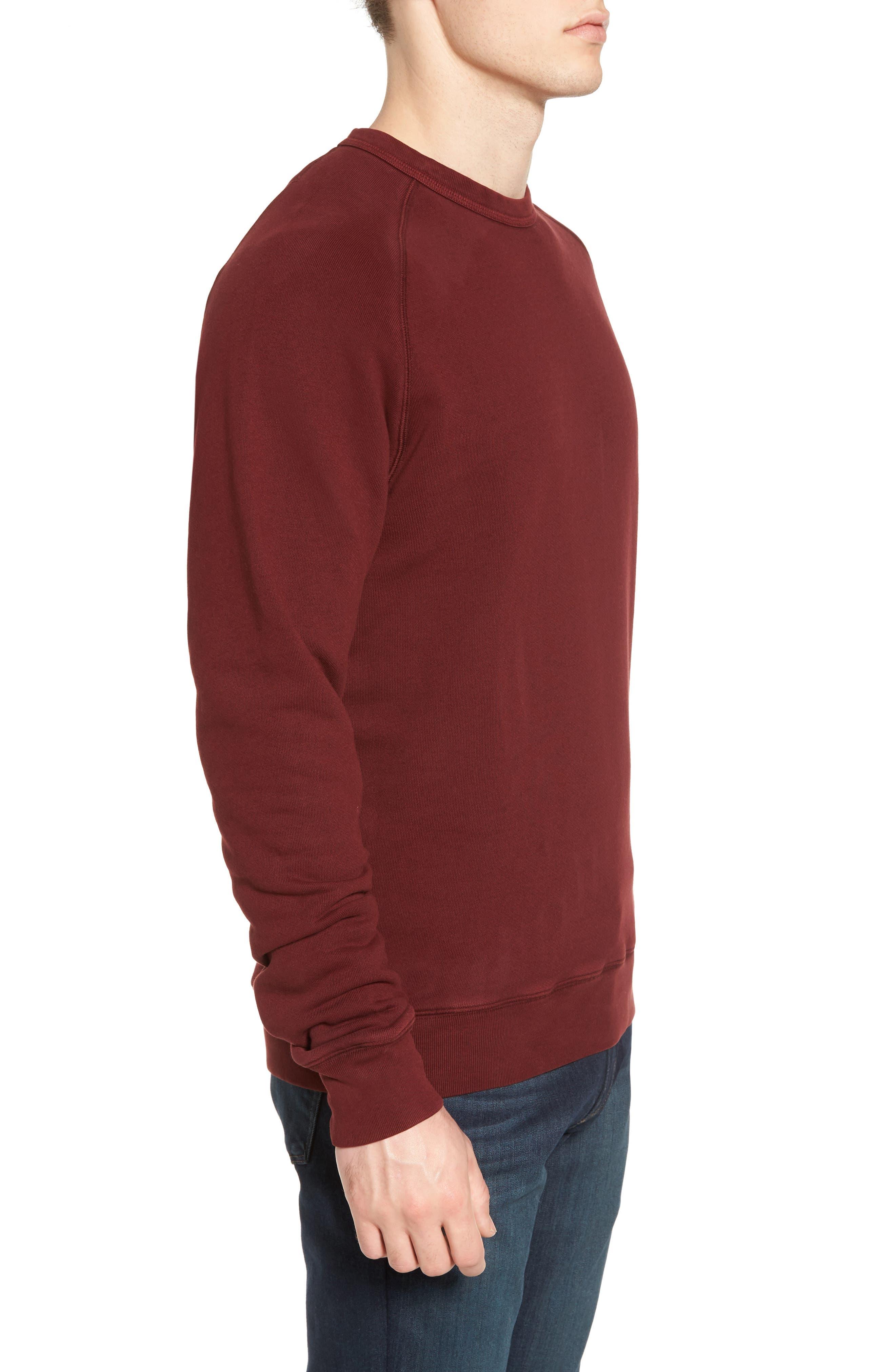 South Sea Raglan Sweatshirt,                             Alternate thumbnail 9, color,