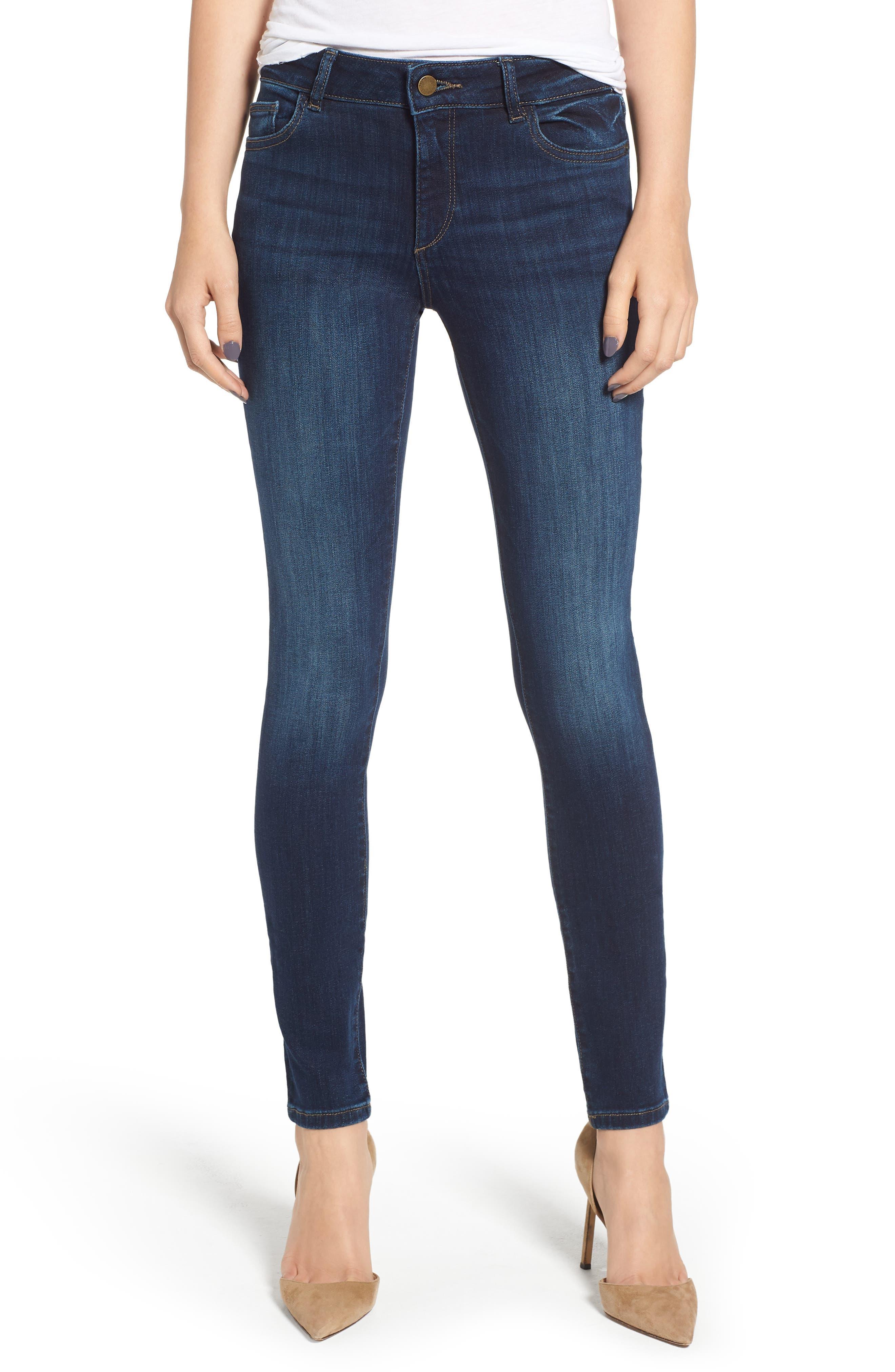DL1961 Florence Instasculpt Skinny Jeans, Main, color, 410