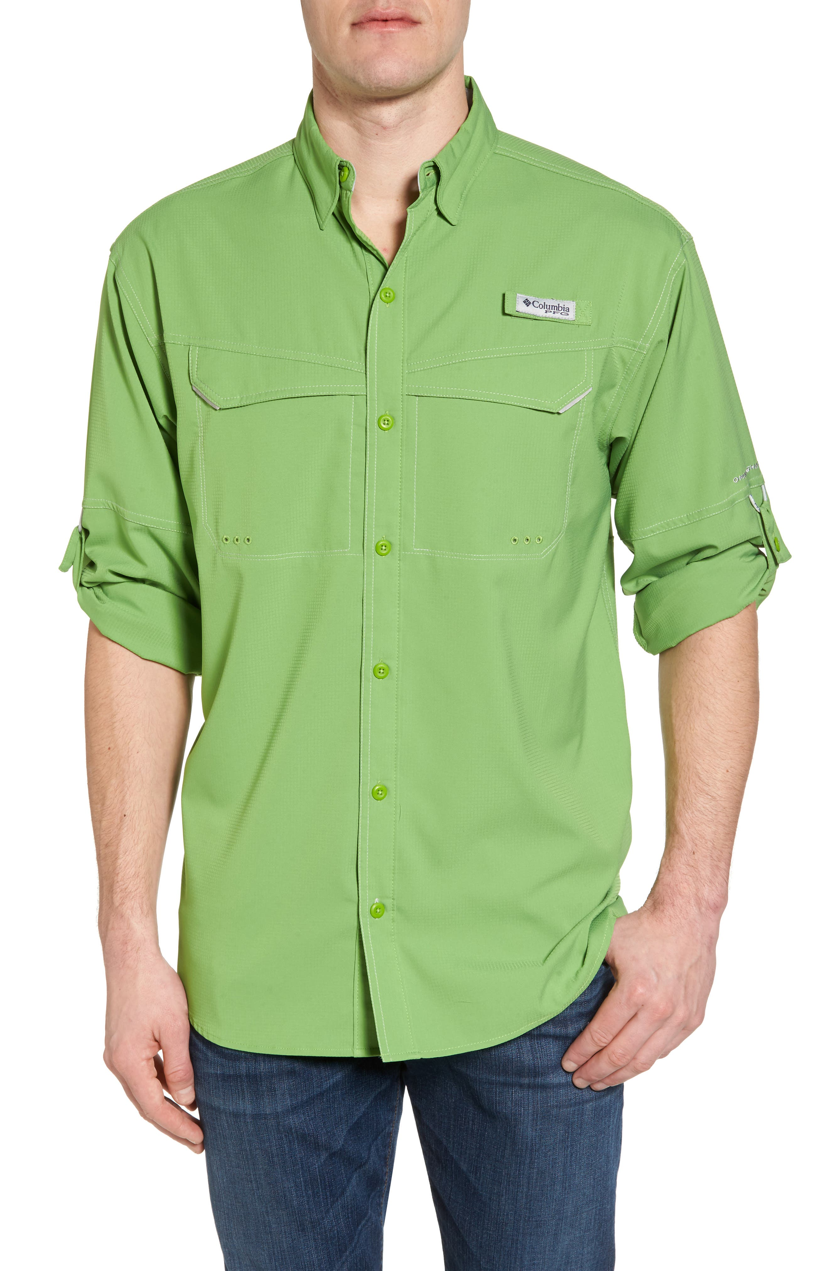 Low Drag Offshore Woven Shirt,                             Main thumbnail 2, color,