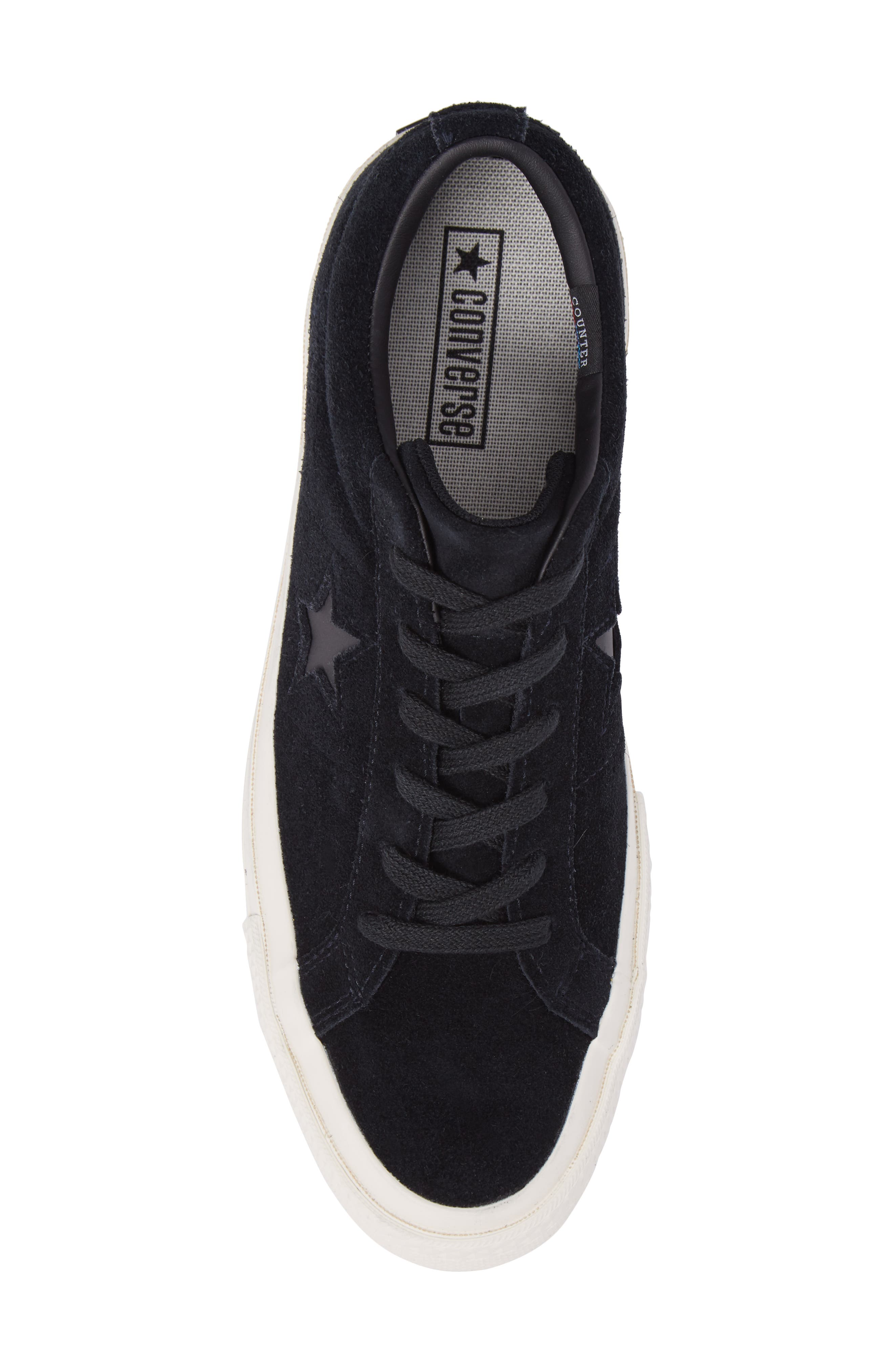 CONVERSE,                             One Star Sneaker,                             Alternate thumbnail 5, color,                             001