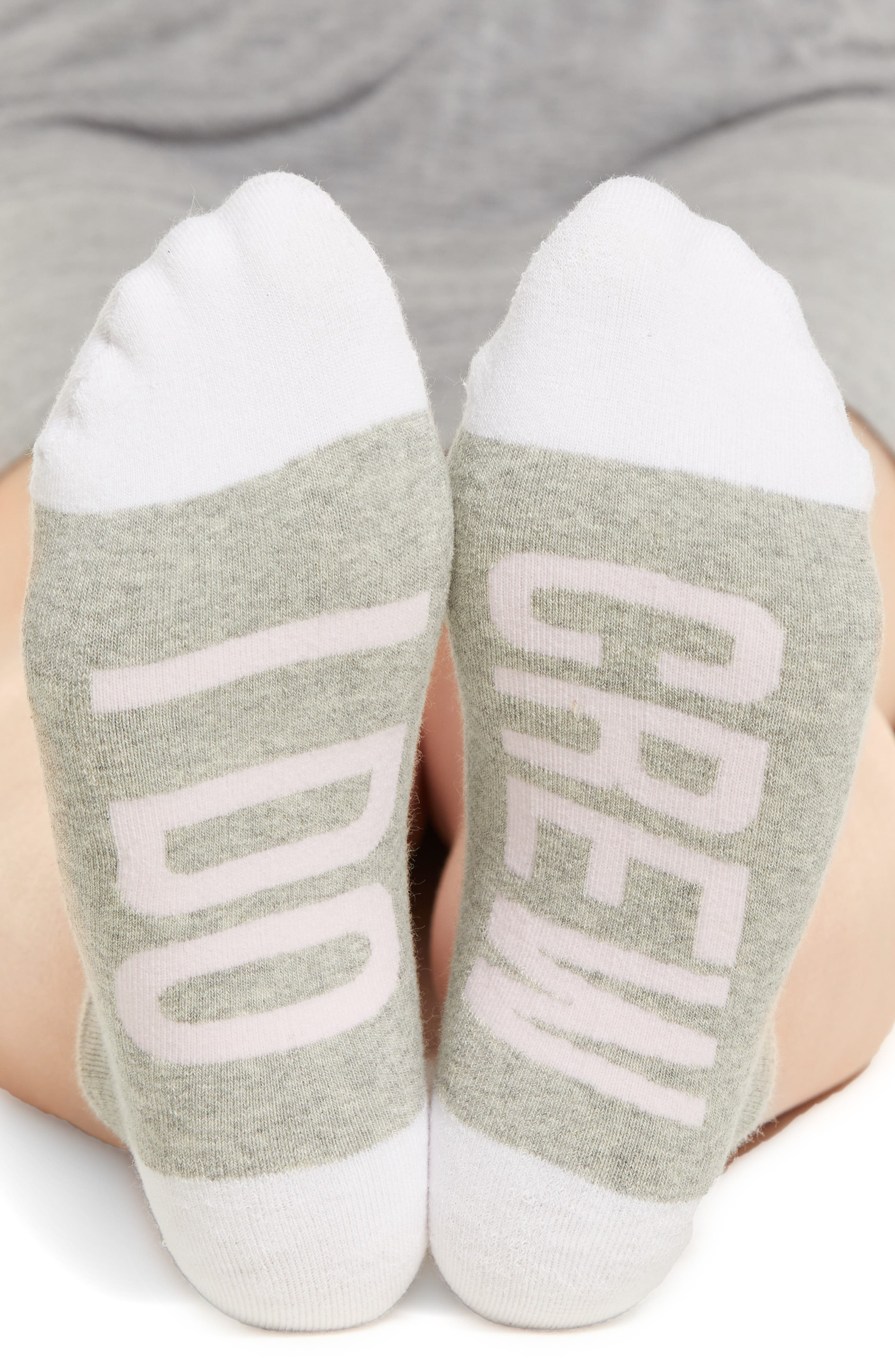 I Do Crew Low-Cut Socks,                             Alternate thumbnail 2, color,                             060