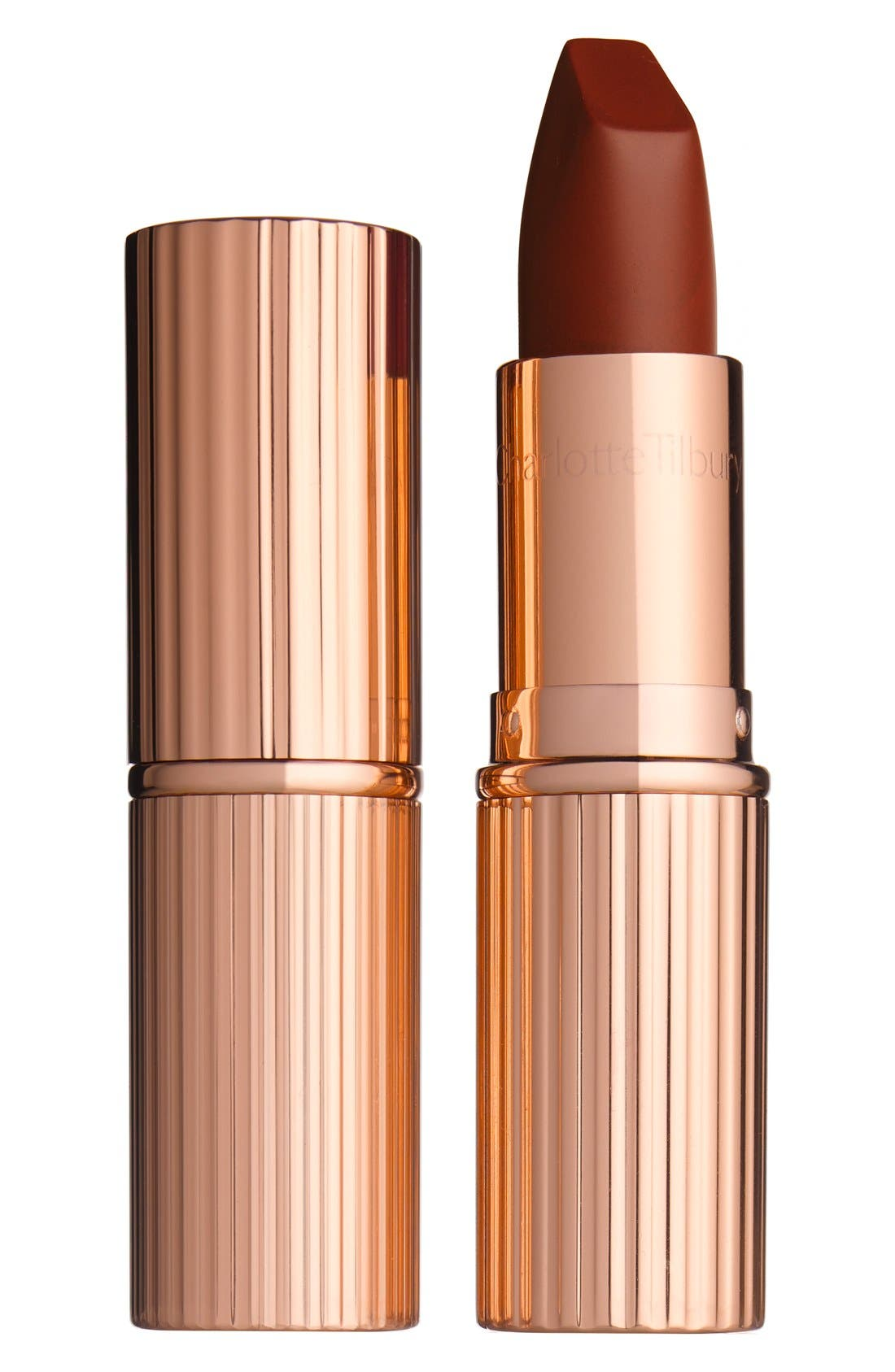 Matte Revolution Lipstick,                             Main thumbnail 1, color,                             BIRKIN BROWN