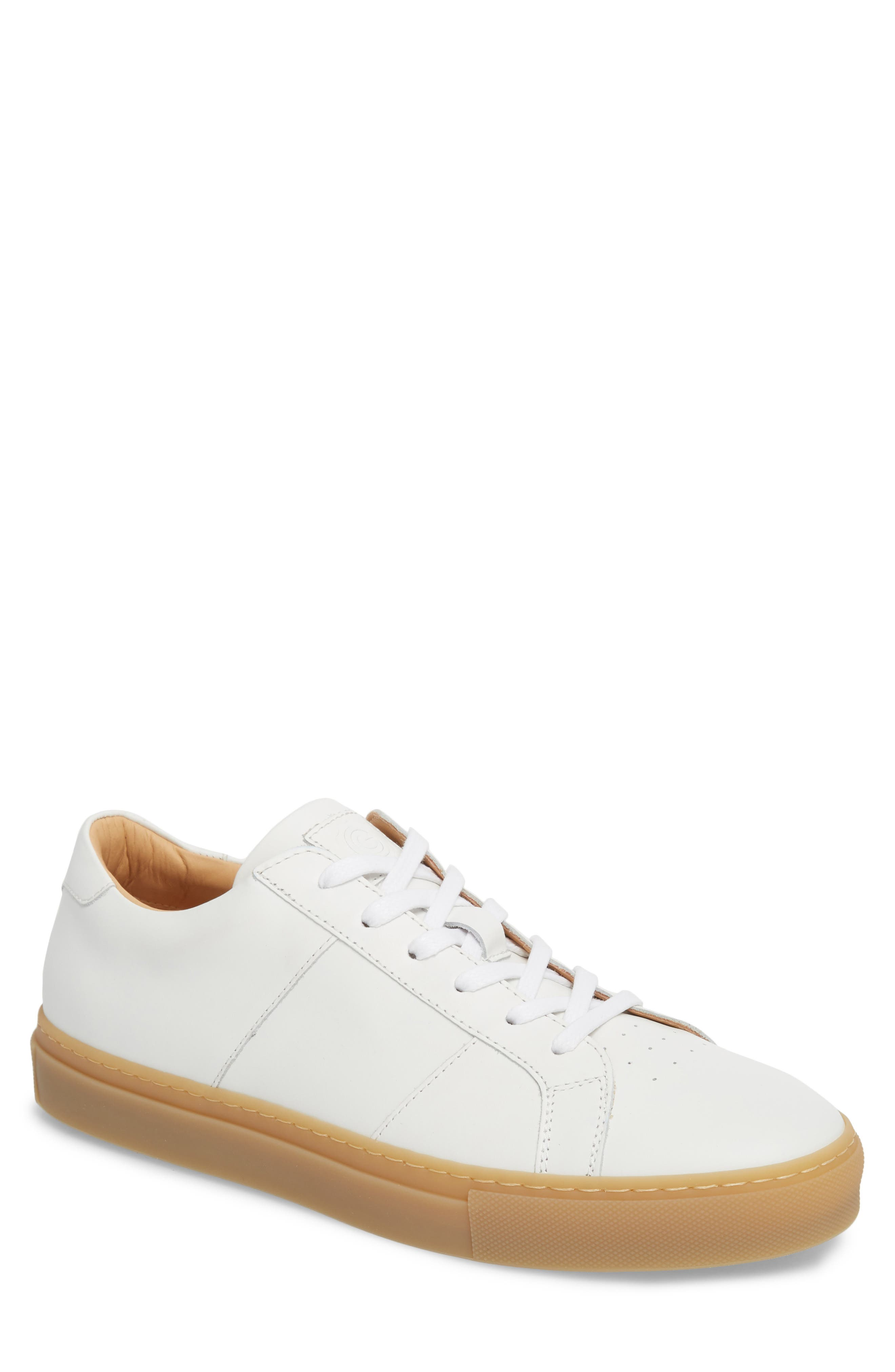 Royale Reverse Sneaker,                             Main thumbnail 1, color,                             WHITE/ GUM