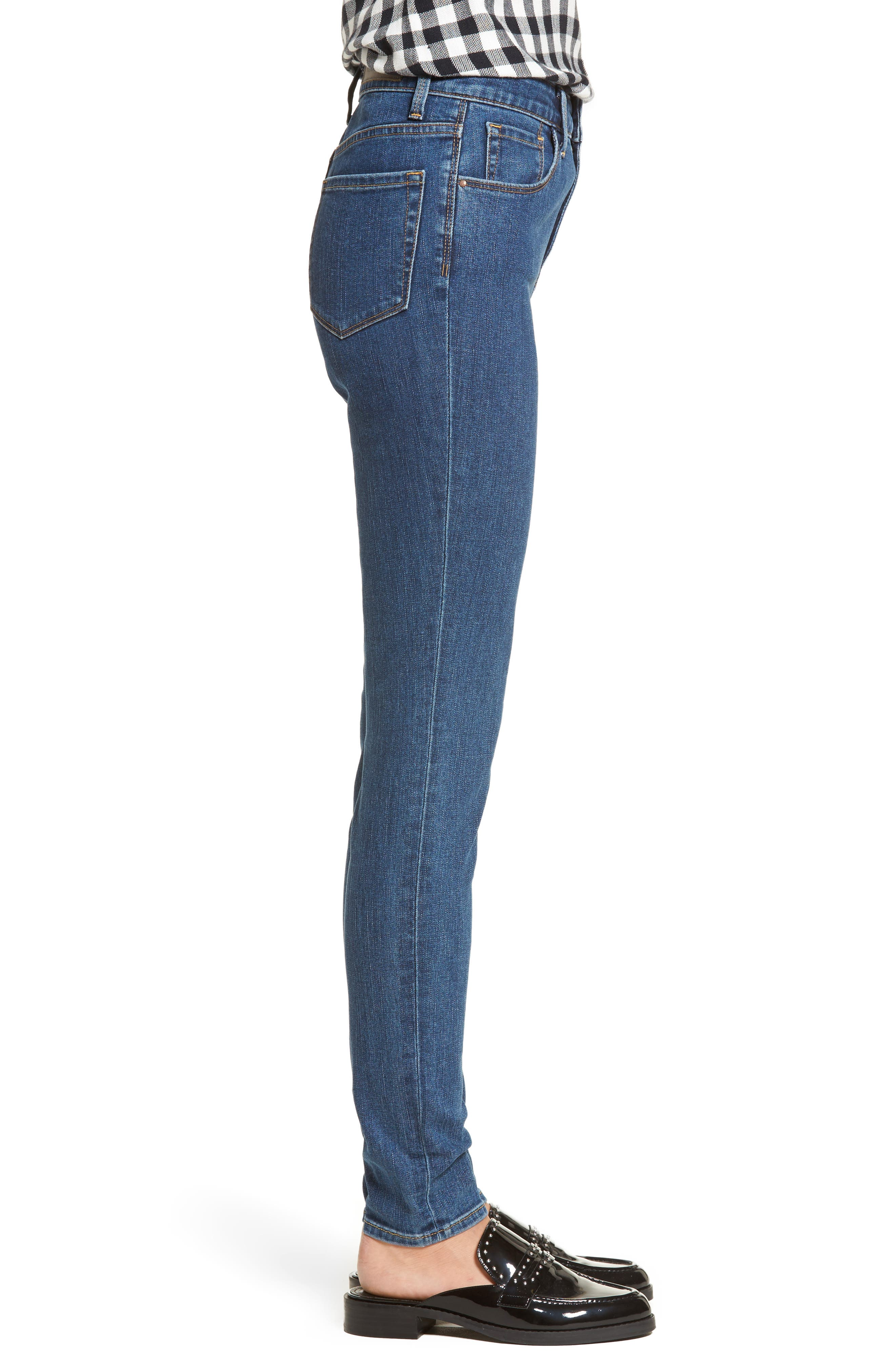 Charity High Waist Skinny Jeans,                             Alternate thumbnail 3, color,