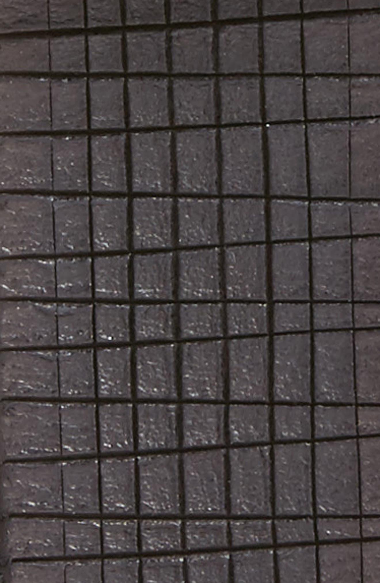 Leather Belt,                             Alternate thumbnail 2, color,                             BLACK