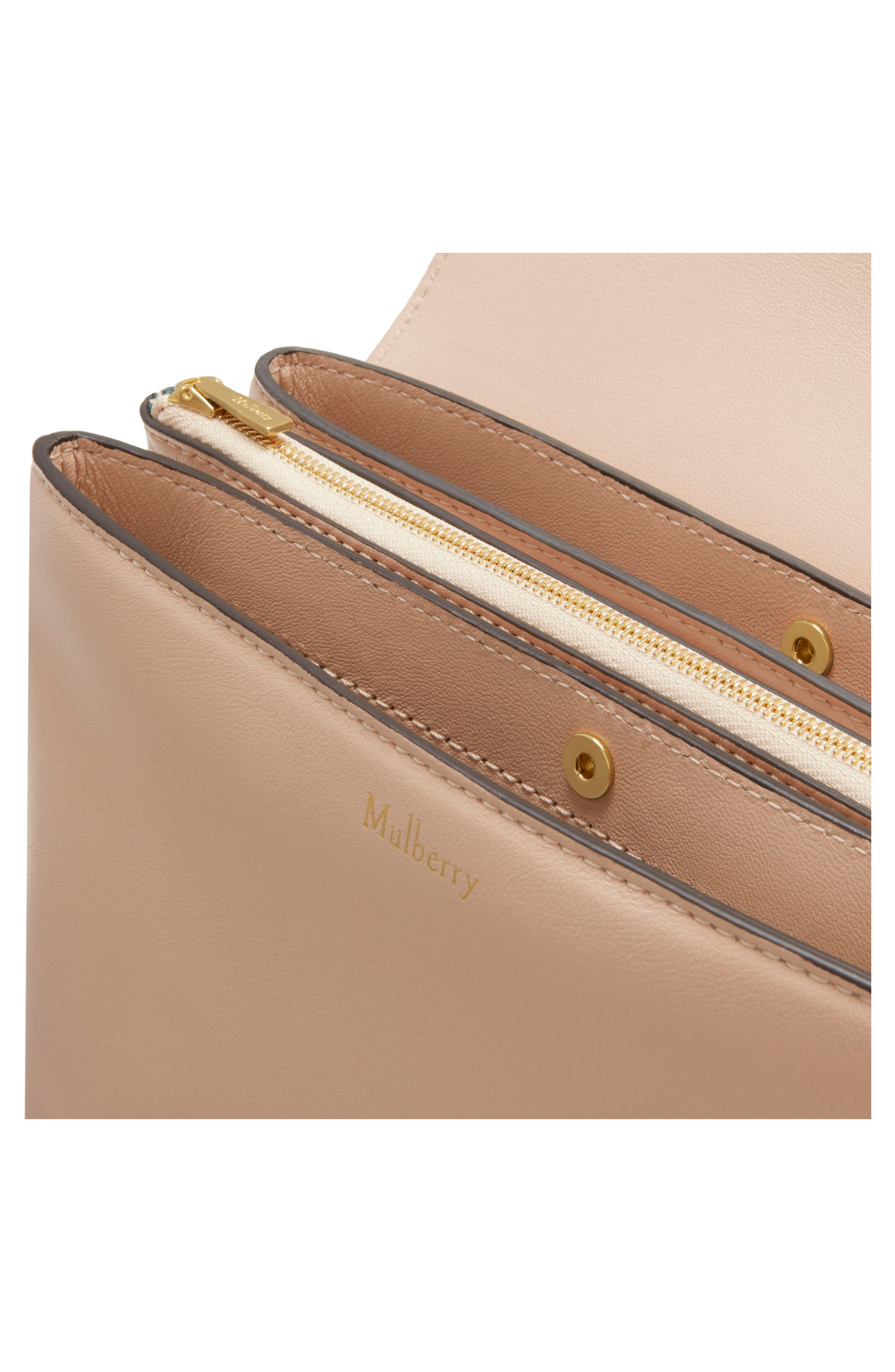 Clifton Leather Wallet on a Chain,                             Alternate thumbnail 8, color,