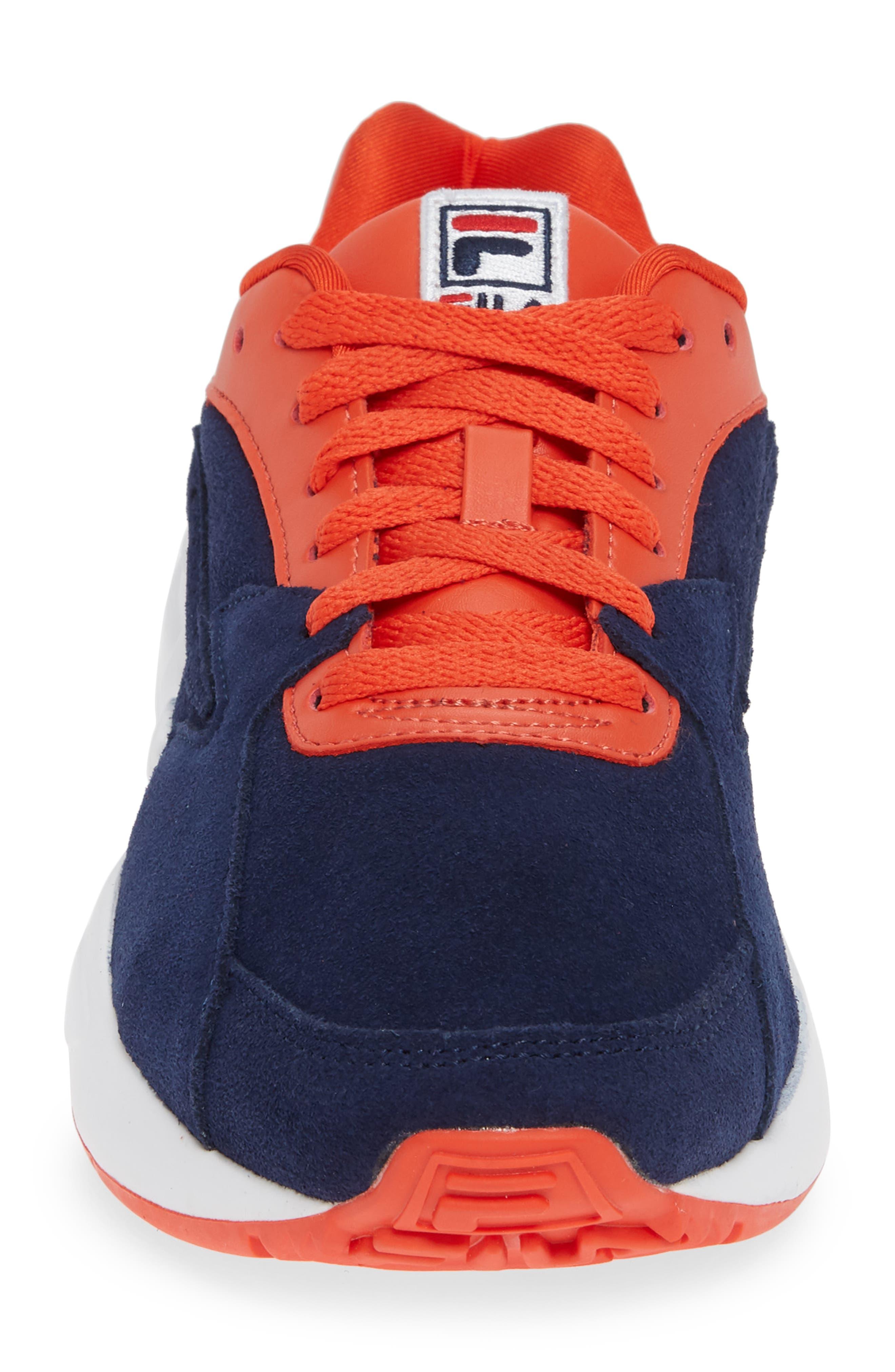Mindblower Sneaker,                             Alternate thumbnail 4, color,                             NAVY/ WHITE/ RED
