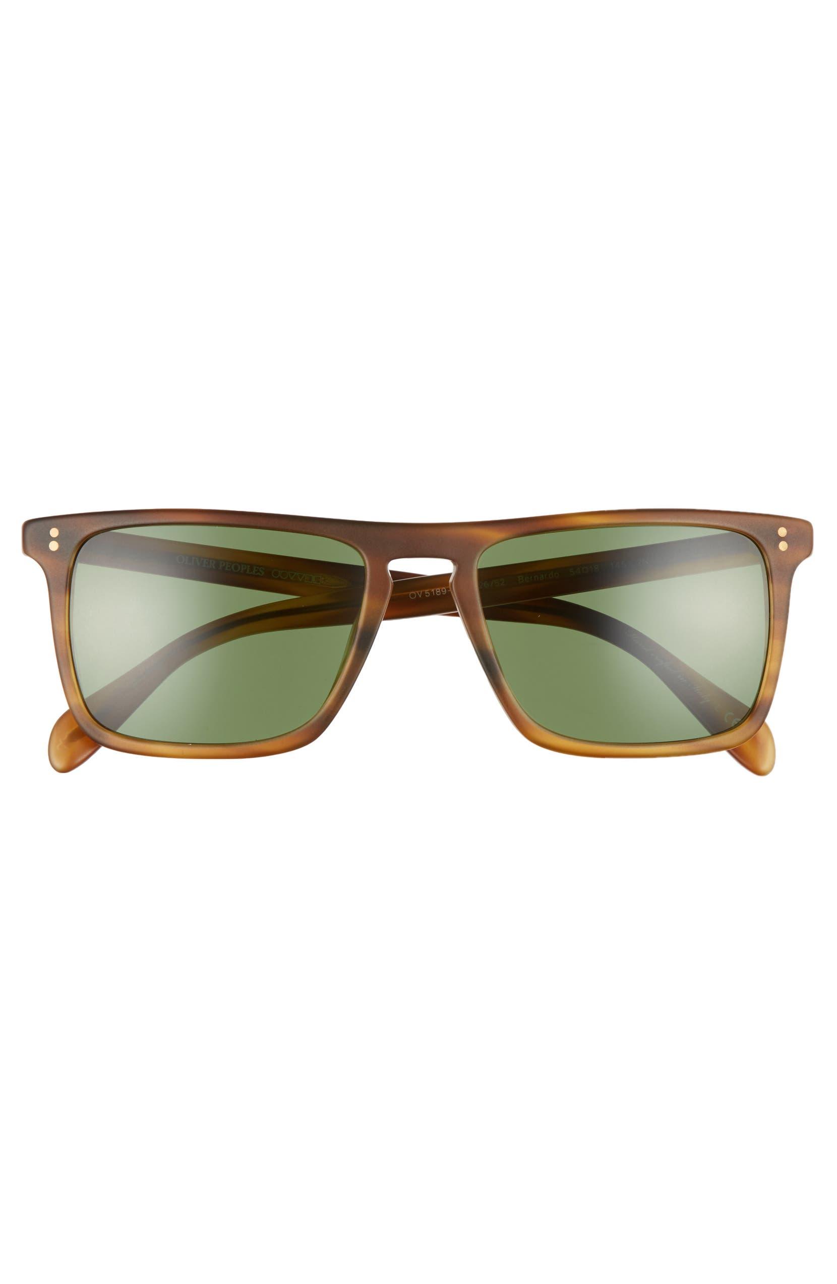 24830bc8187 Oliver Peoples Bernardo 54mm Polarized Square Sunglasses