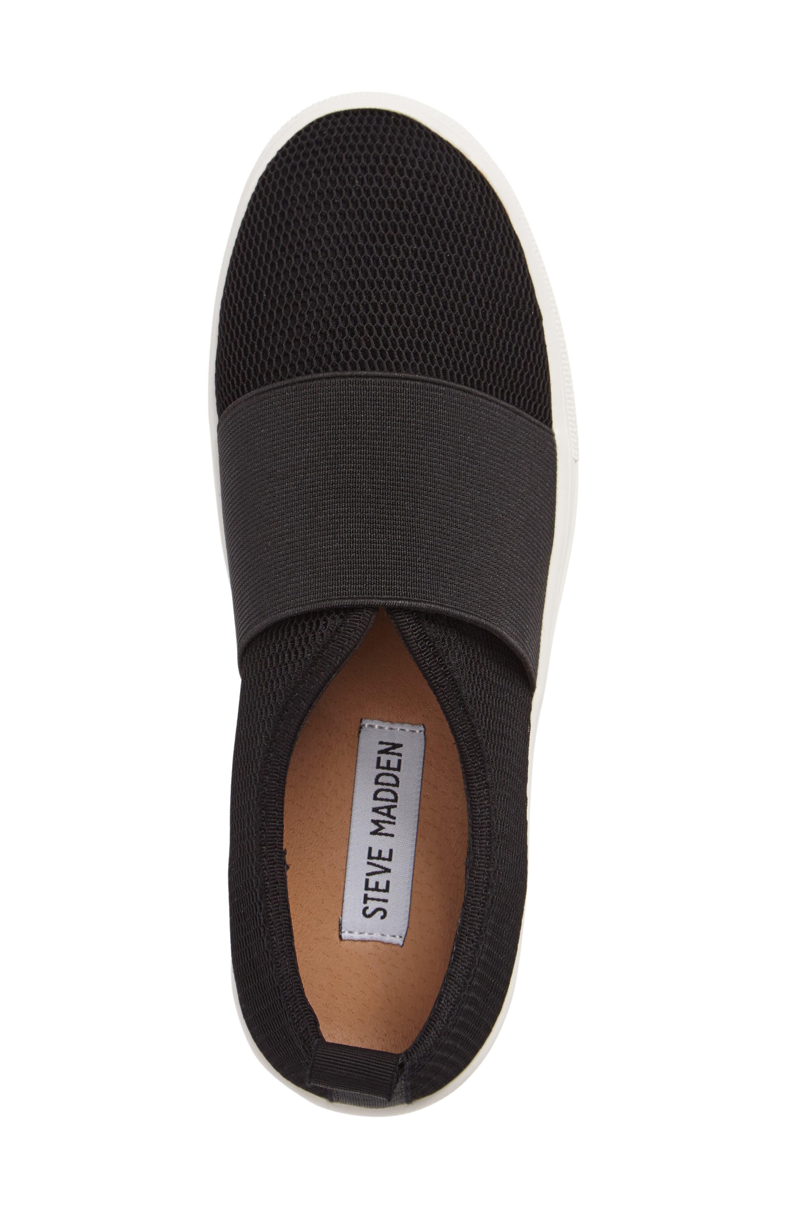 Glenn Slip-On Platform Sneaker,                             Alternate thumbnail 3, color,                             001