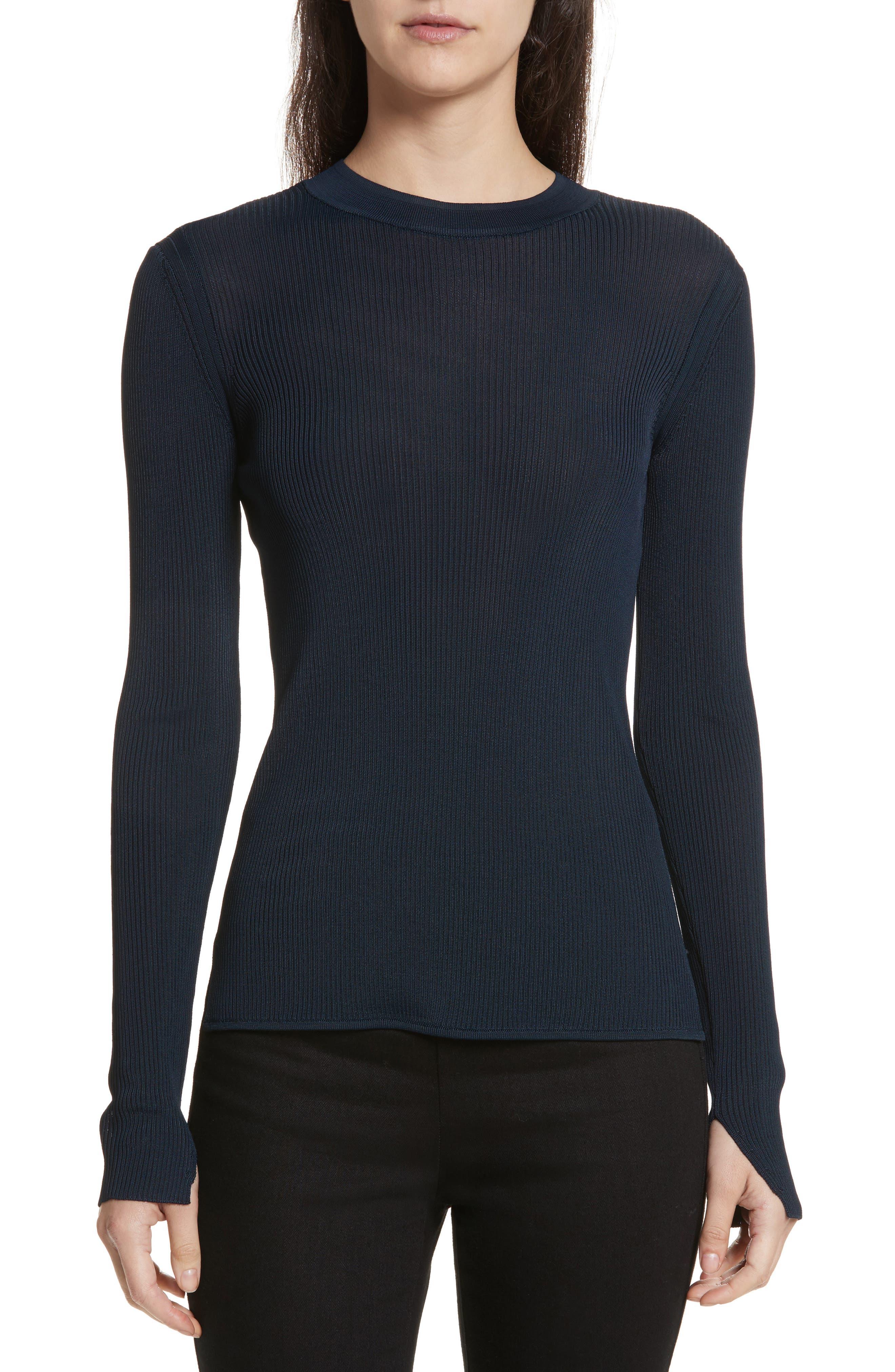 Sylvia Split Cuff Sweater,                         Main,                         color, 410