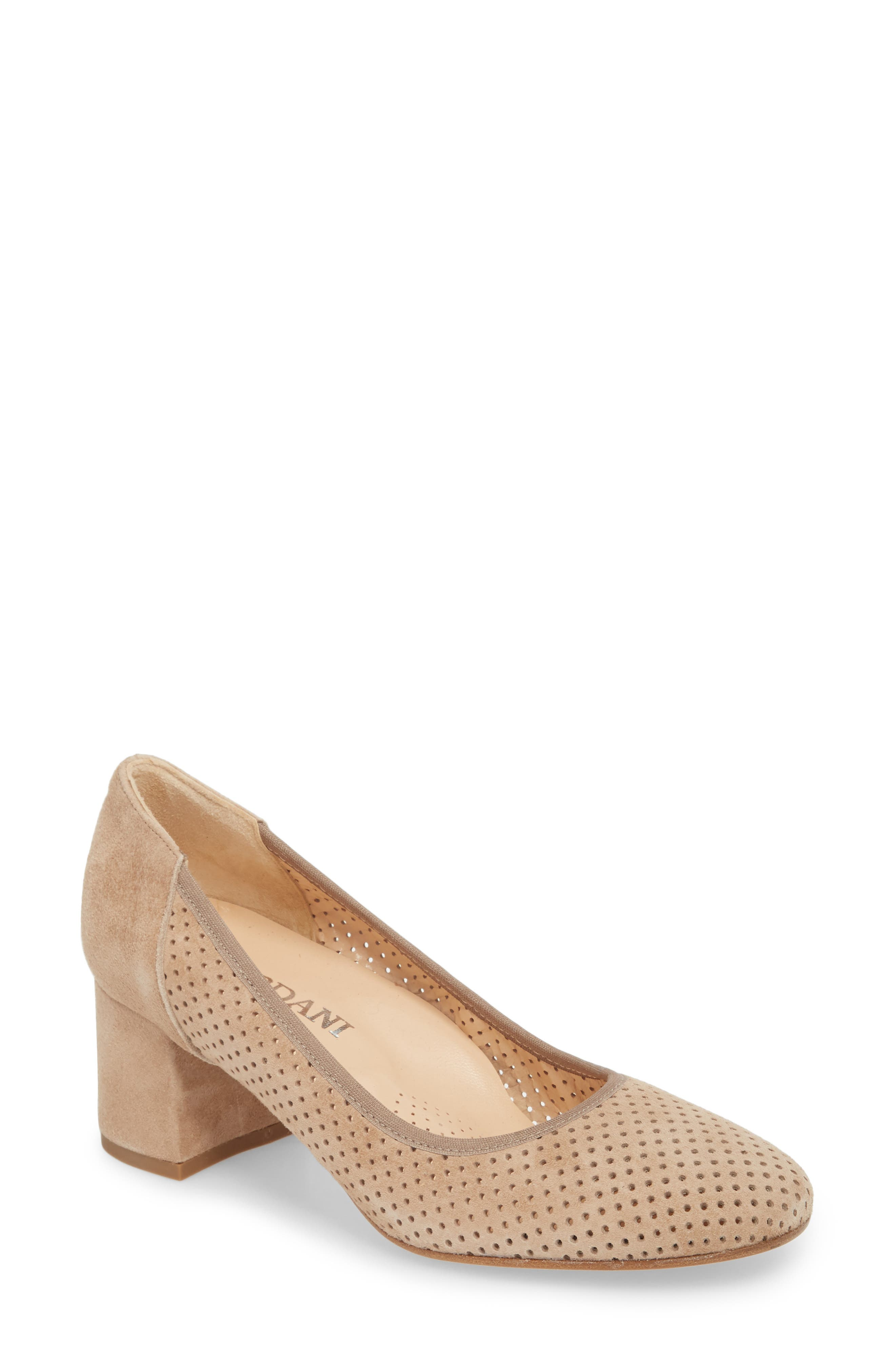 Nevins Pump,                         Main,                         color, TAUPE SUEDE