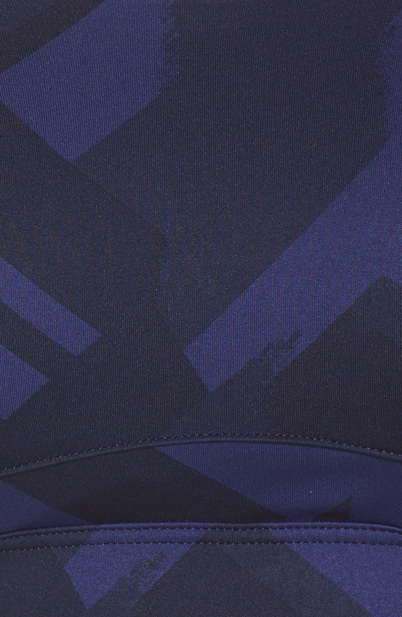 Juno Bra,                             Alternate thumbnail 6, color,                             NAVY ECLIPSE/ NAVY