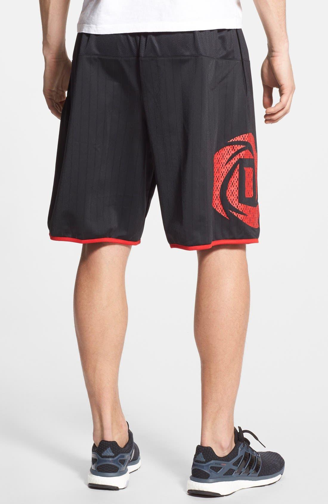 'D. Rose Jamfest' Basketball Shorts,                             Alternate thumbnail 2, color,                             001