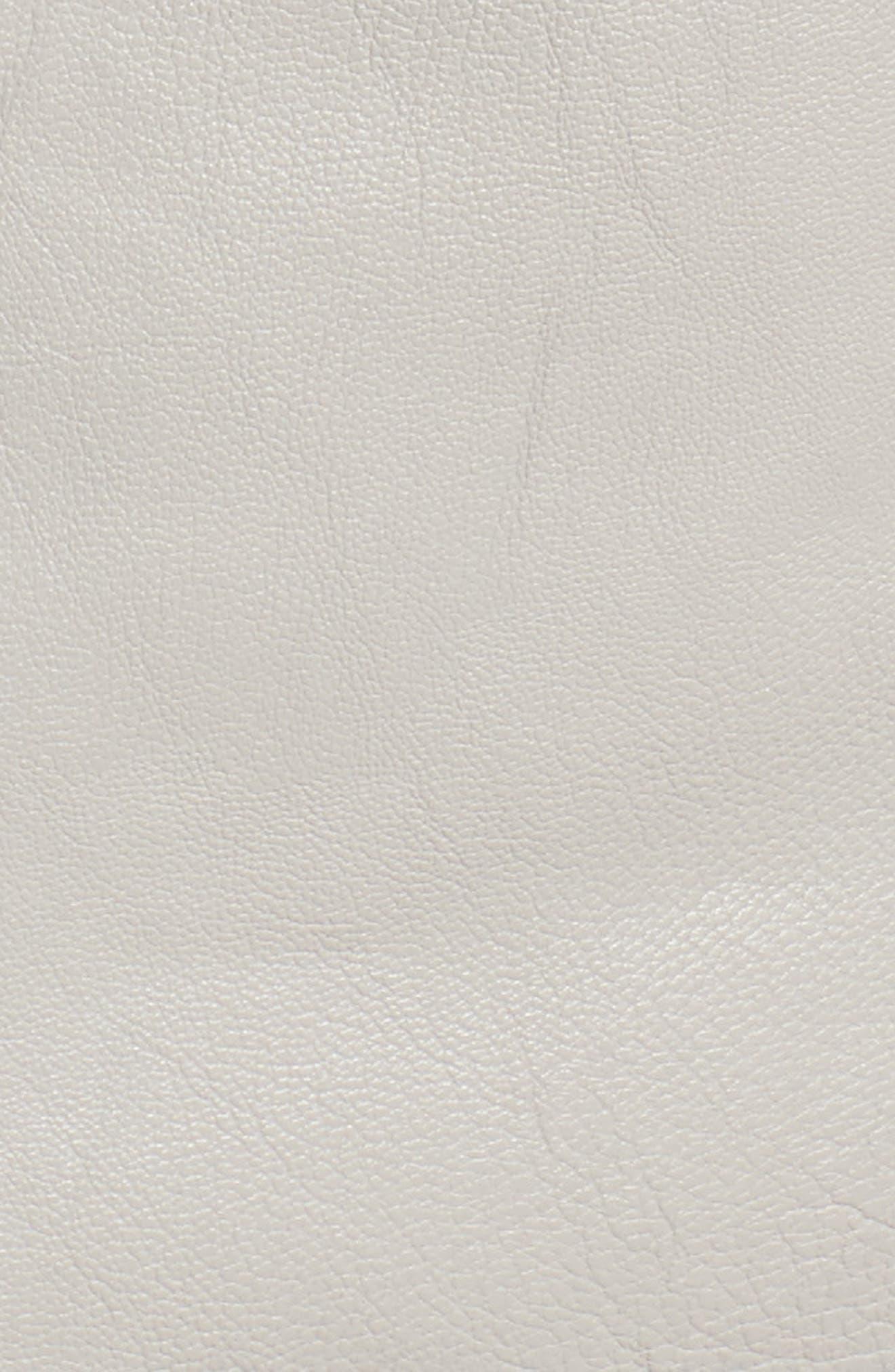 Faux Leather Moto Jacket,                             Alternate thumbnail 12, color,