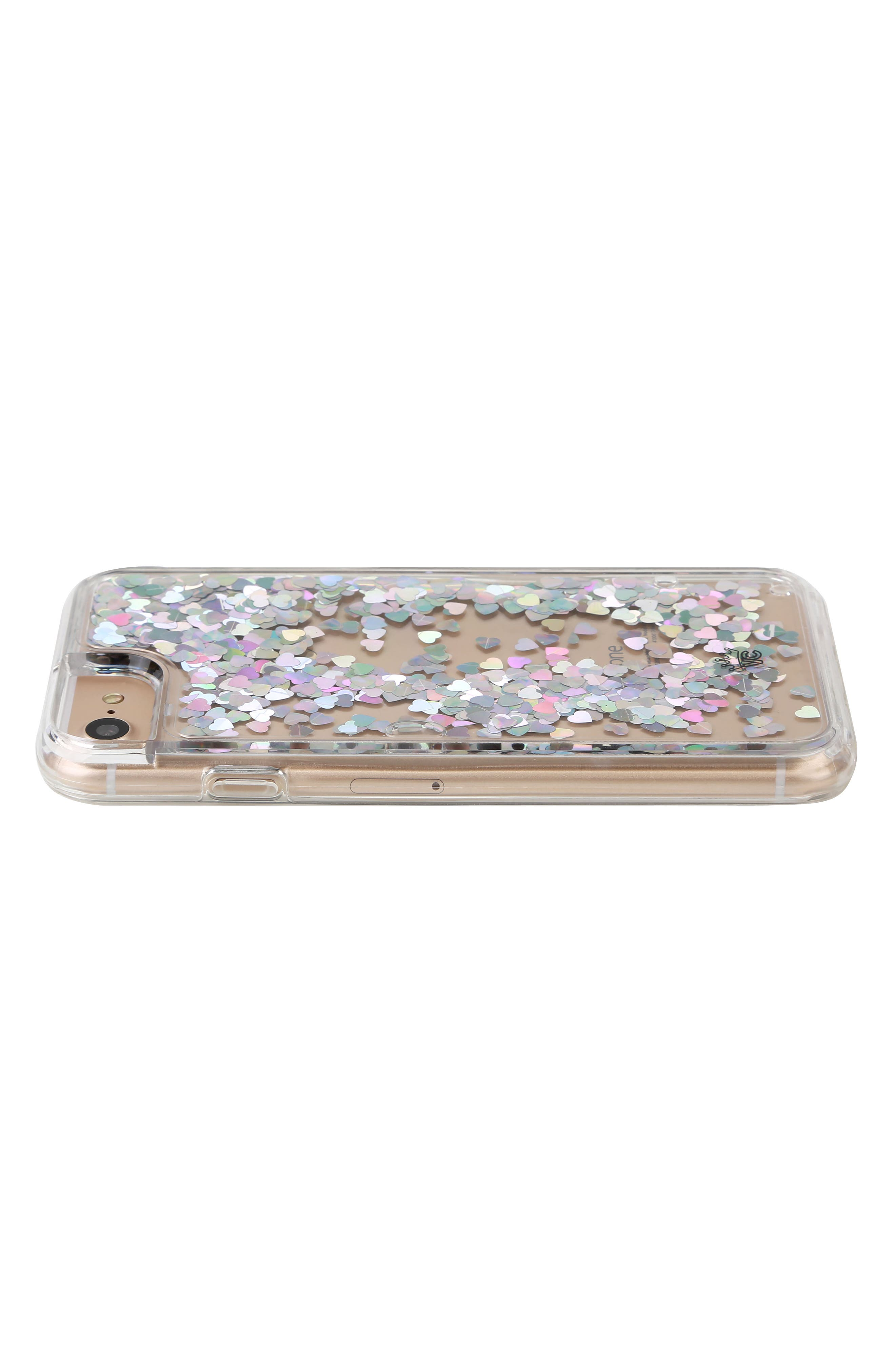 Holo Hearts iPhone 7 Case,                             Alternate thumbnail 2, color,                             040