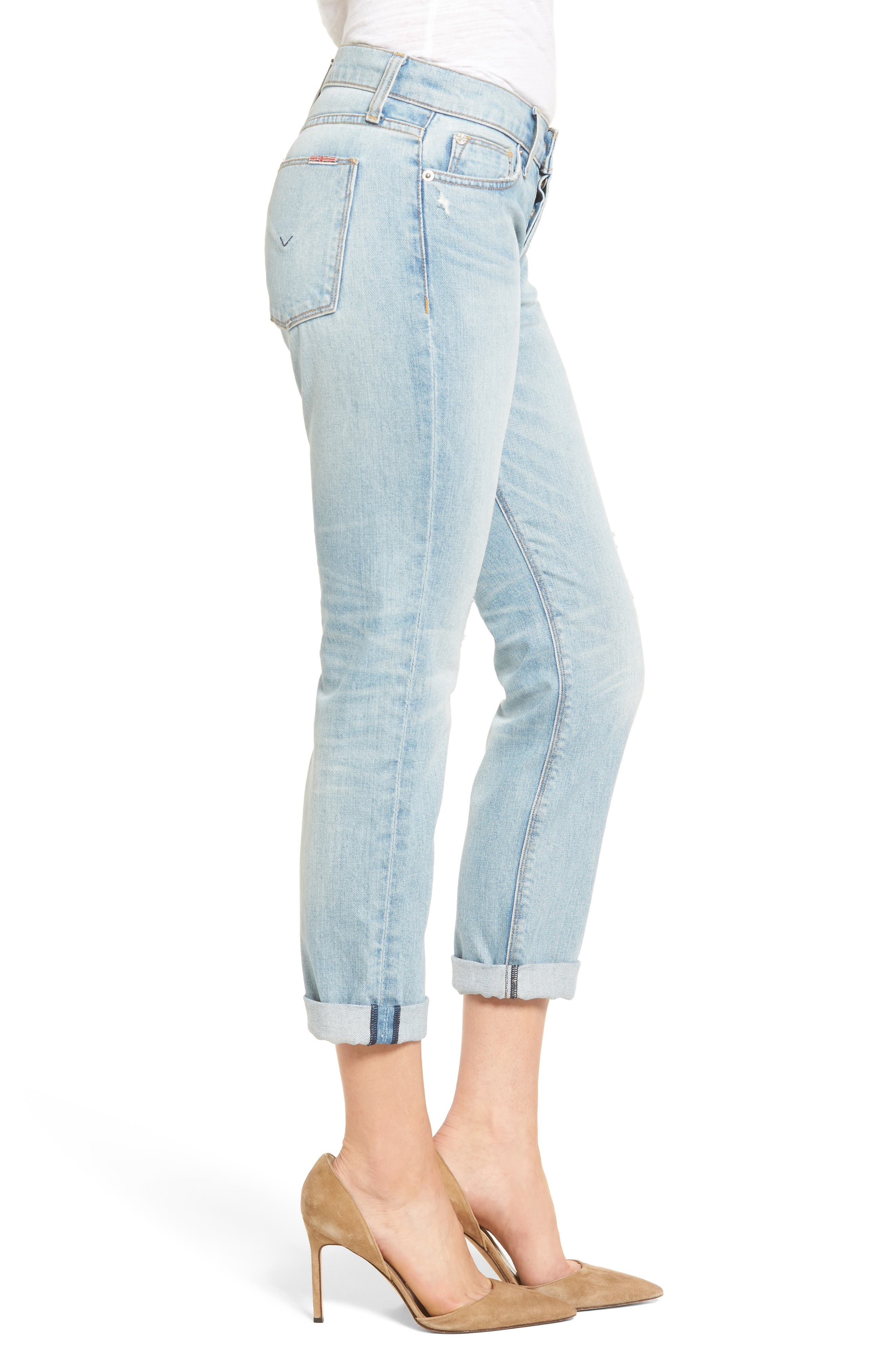 Riley Crop Relaxed Straight Leg Jeans,                             Alternate thumbnail 9, color,