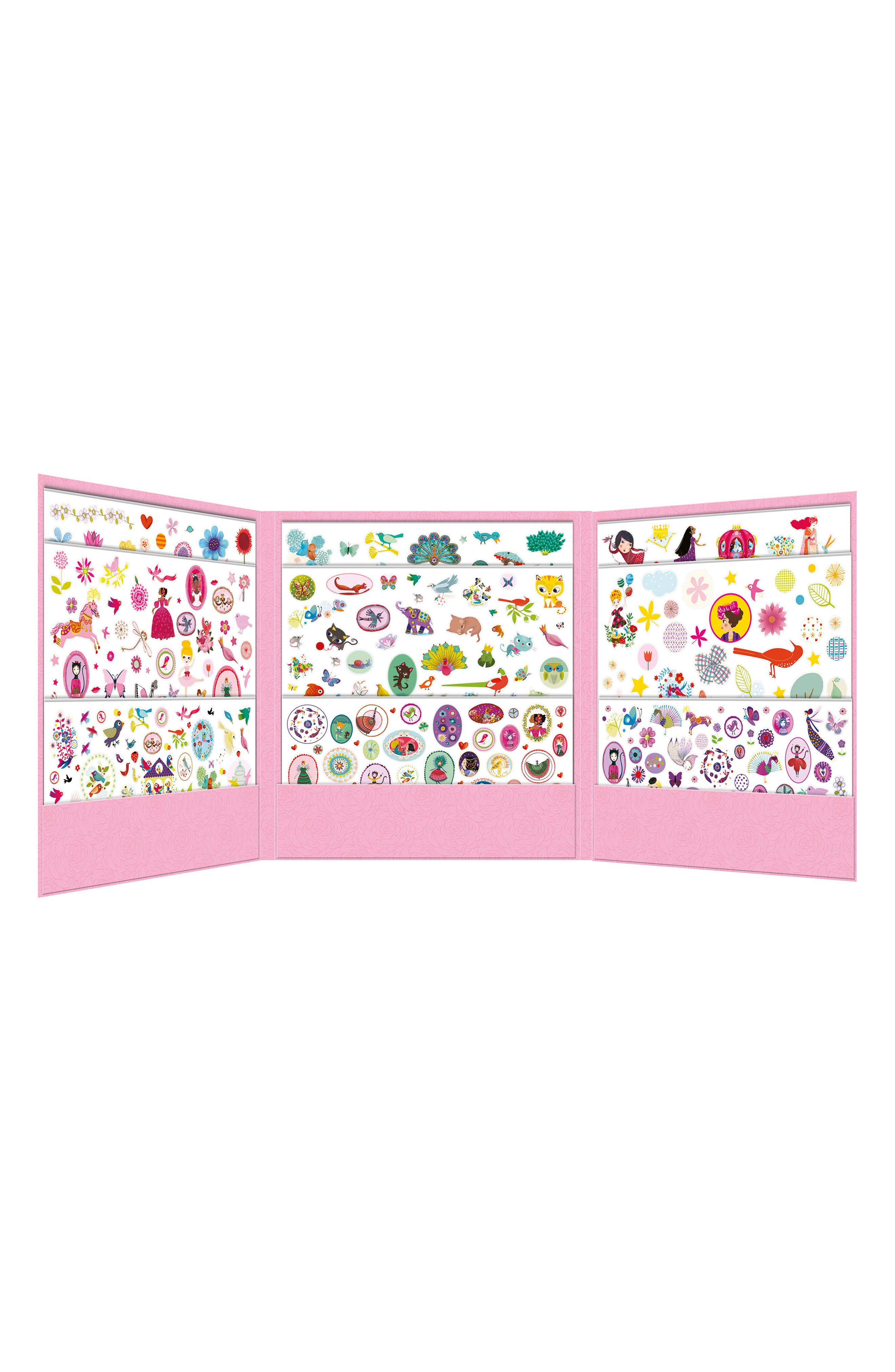 Over 1,000 Stickers for Girls Sticker Collection,                             Alternate thumbnail 2, color,                             100