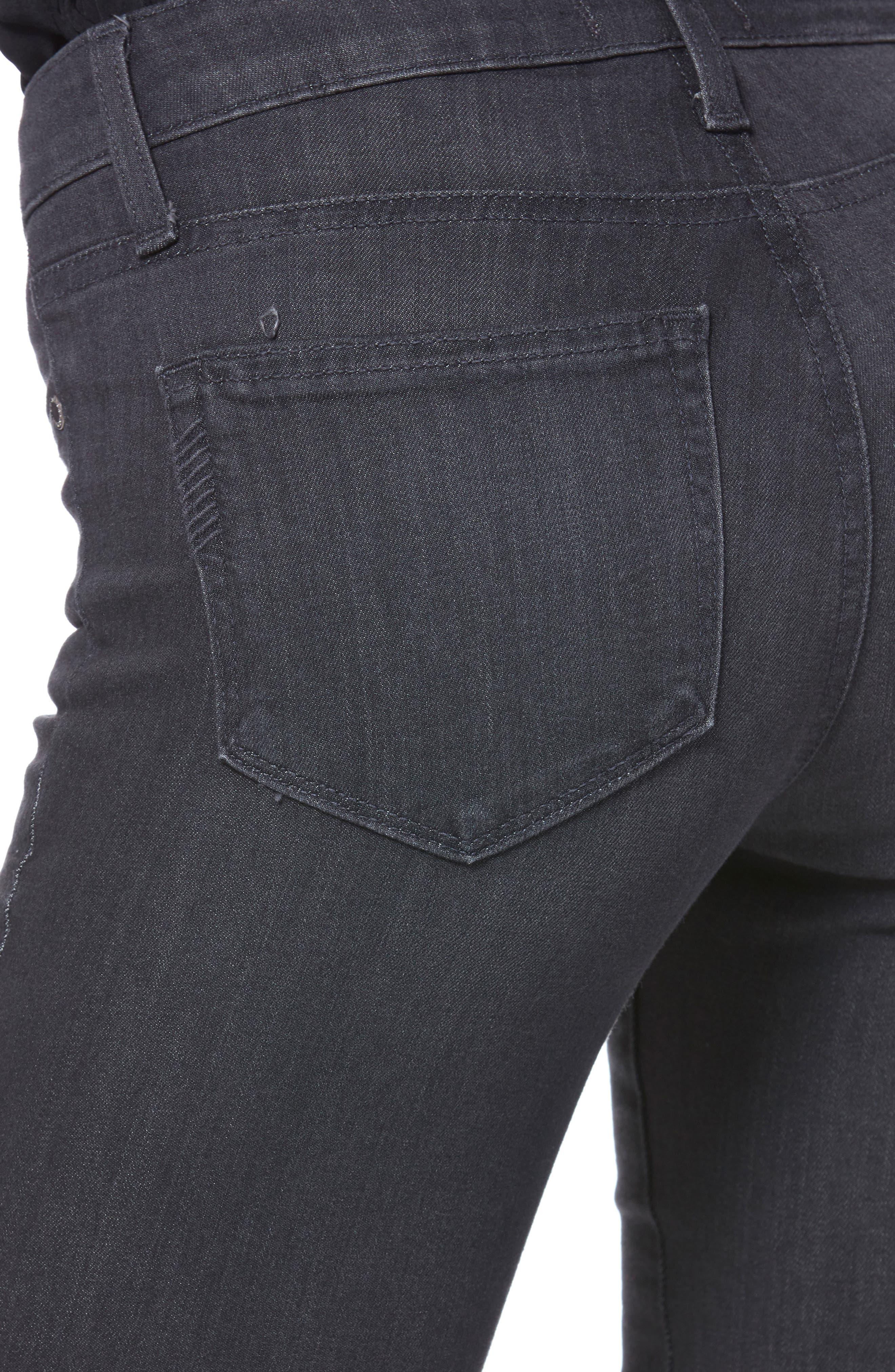 Transcend - Leggy Ultra Skinny Jeans,                             Alternate thumbnail 4, color,                             GREY PEAKS
