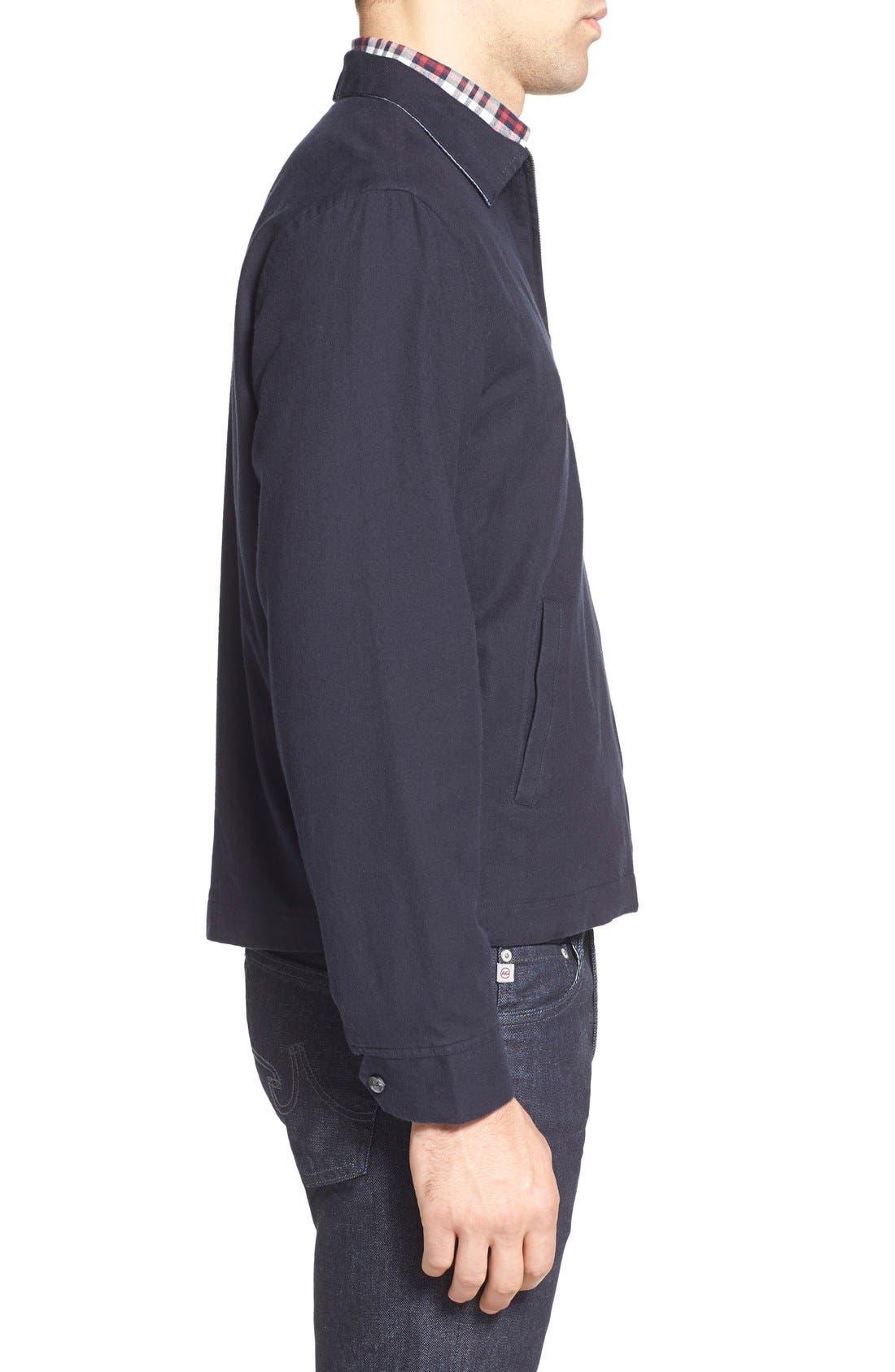 'Sedona' Zip Front Canvas Jacket,                             Alternate thumbnail 8, color,