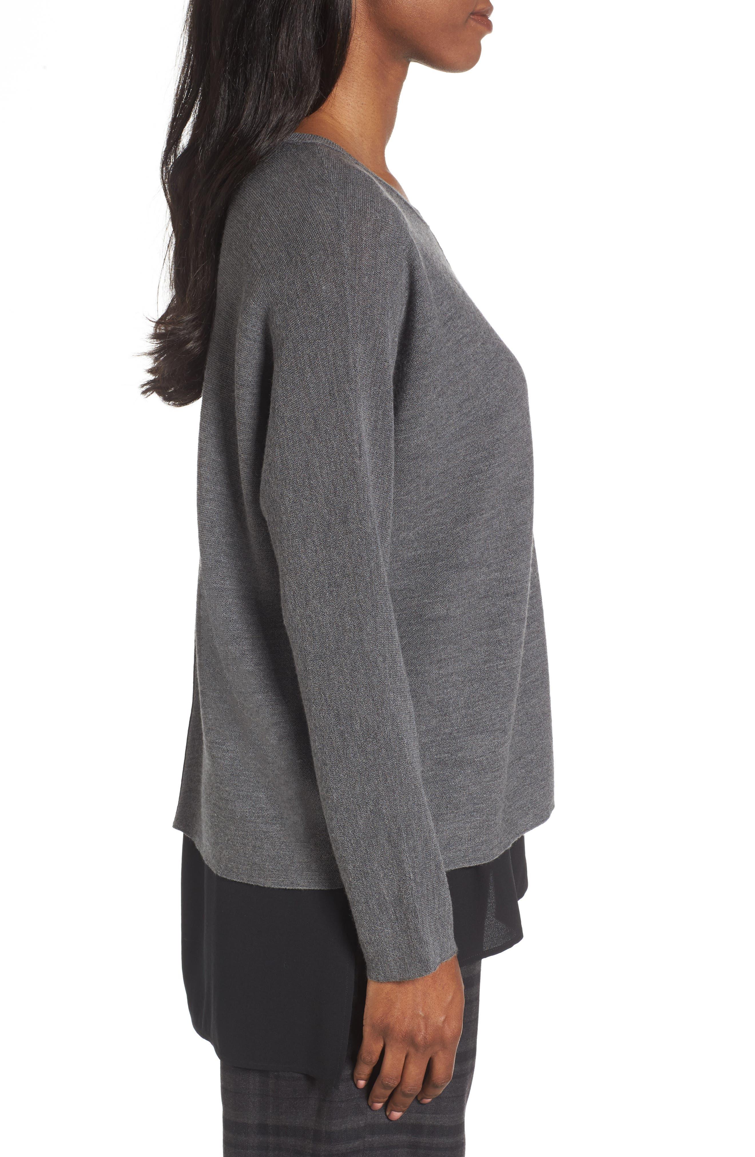 Merino Wool Sweater,                             Alternate thumbnail 11, color,
