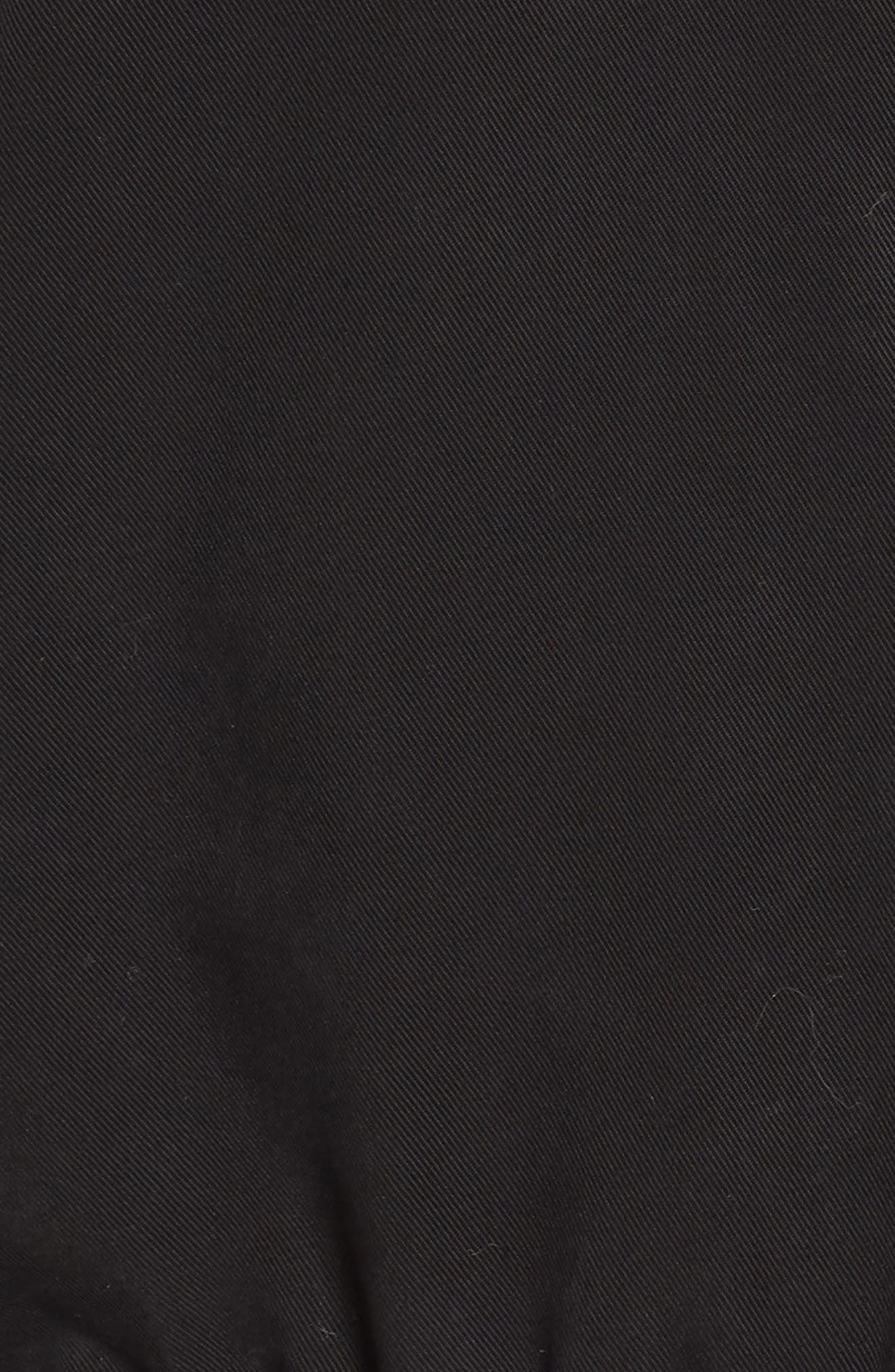 Walsh Tencel<sup>®</sup> Coat with Detachable Hooded Faux Fur Vest,                             Alternate thumbnail 6, color,                             001