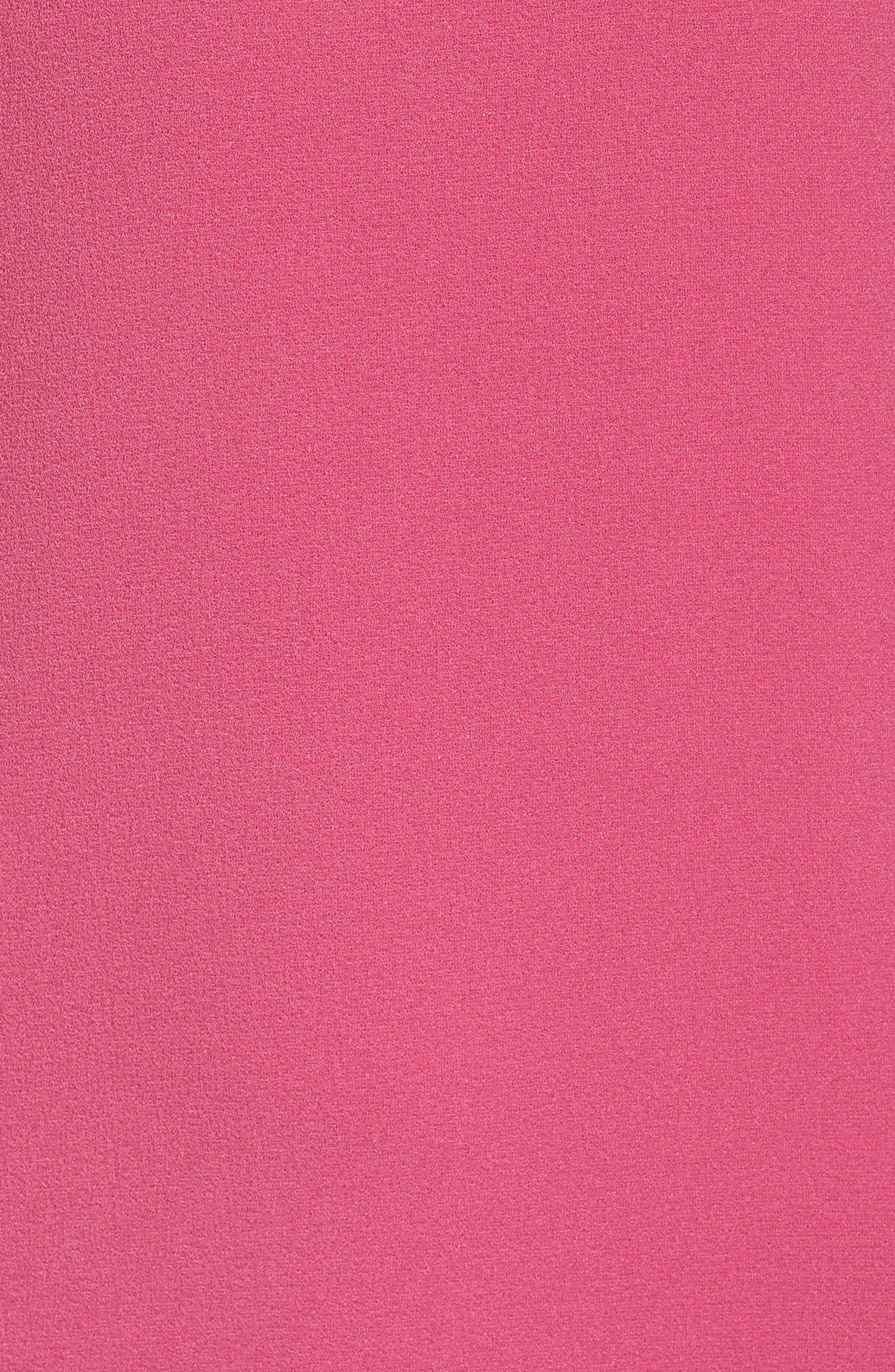 Ruffle Sleeve Shift Dress,                             Alternate thumbnail 5, color,                             660