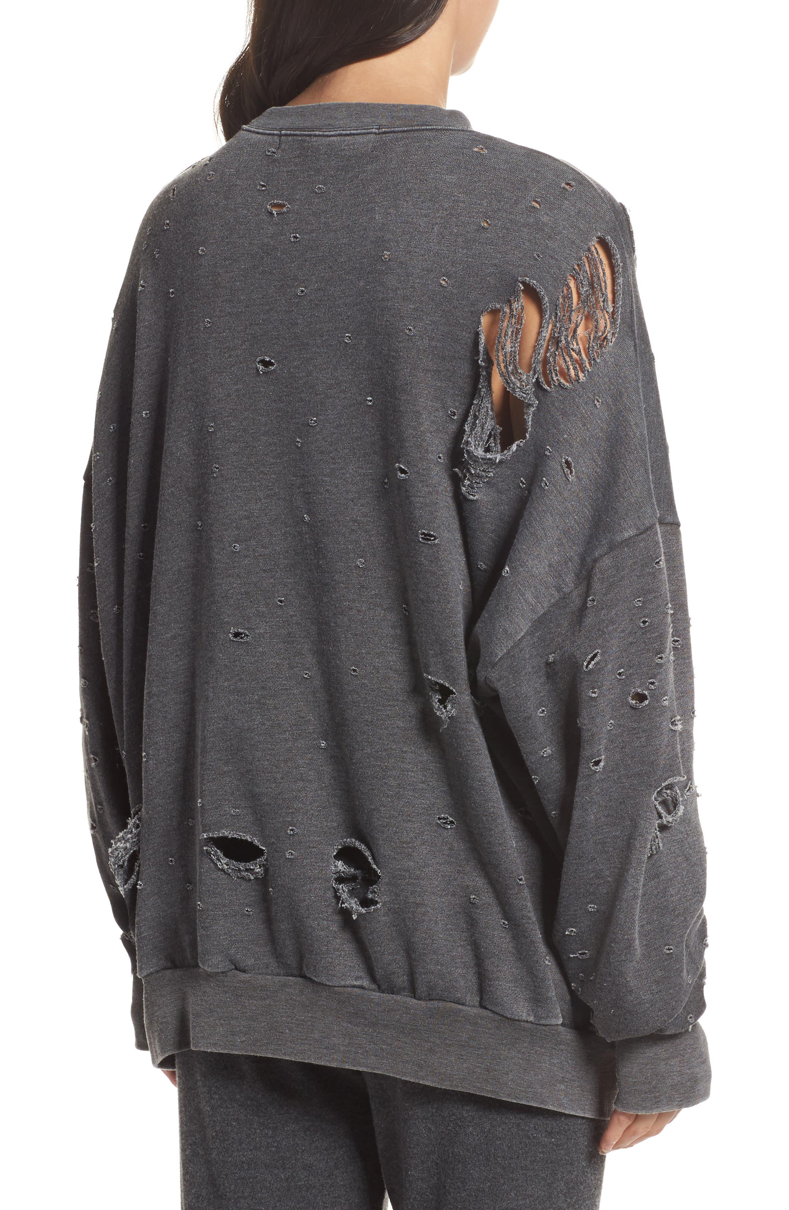 Thrasher Sweatshirt,                             Alternate thumbnail 2, color,                             020