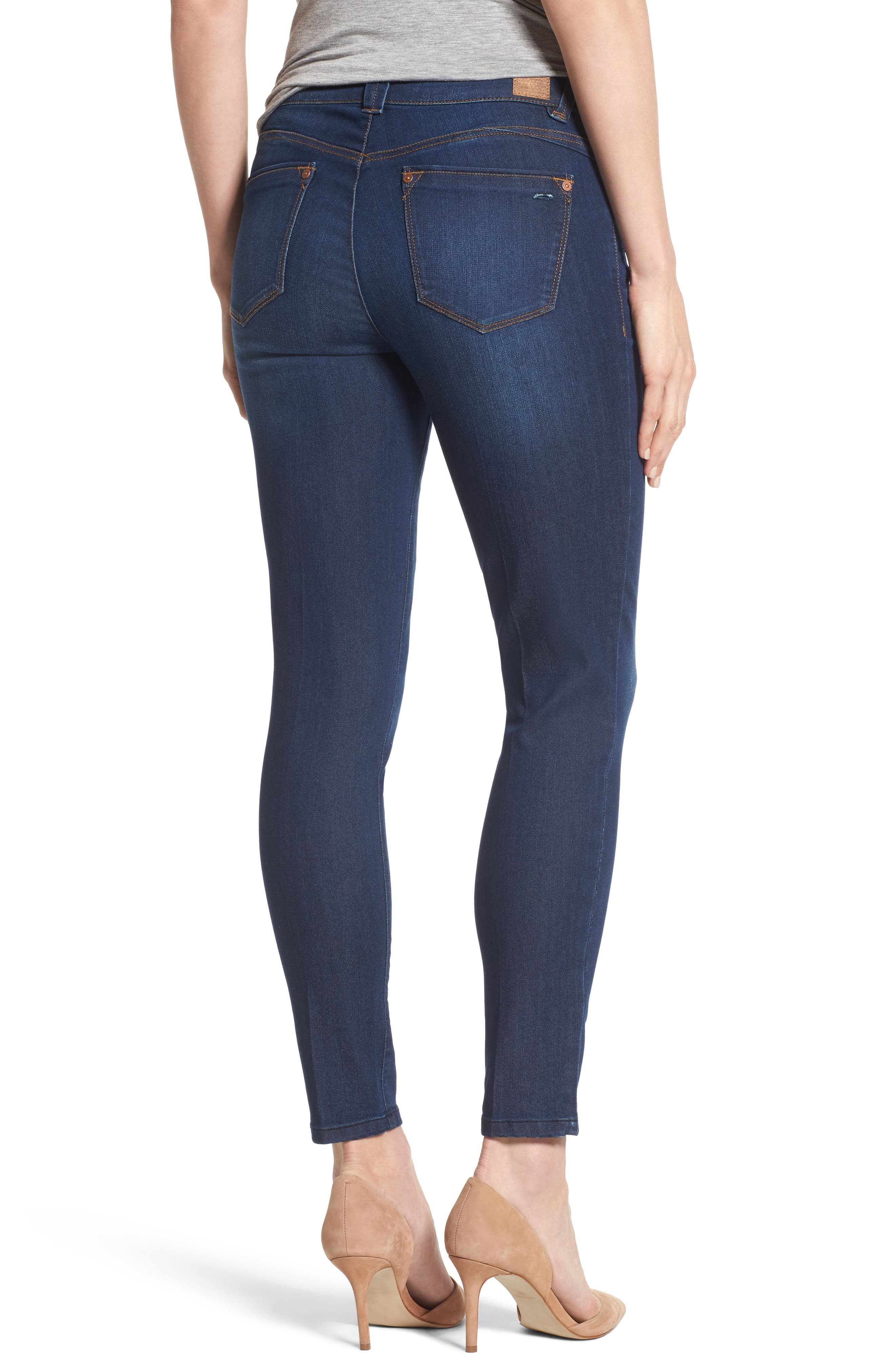 Skinny Ankle Jeans,                             Alternate thumbnail 2, color,