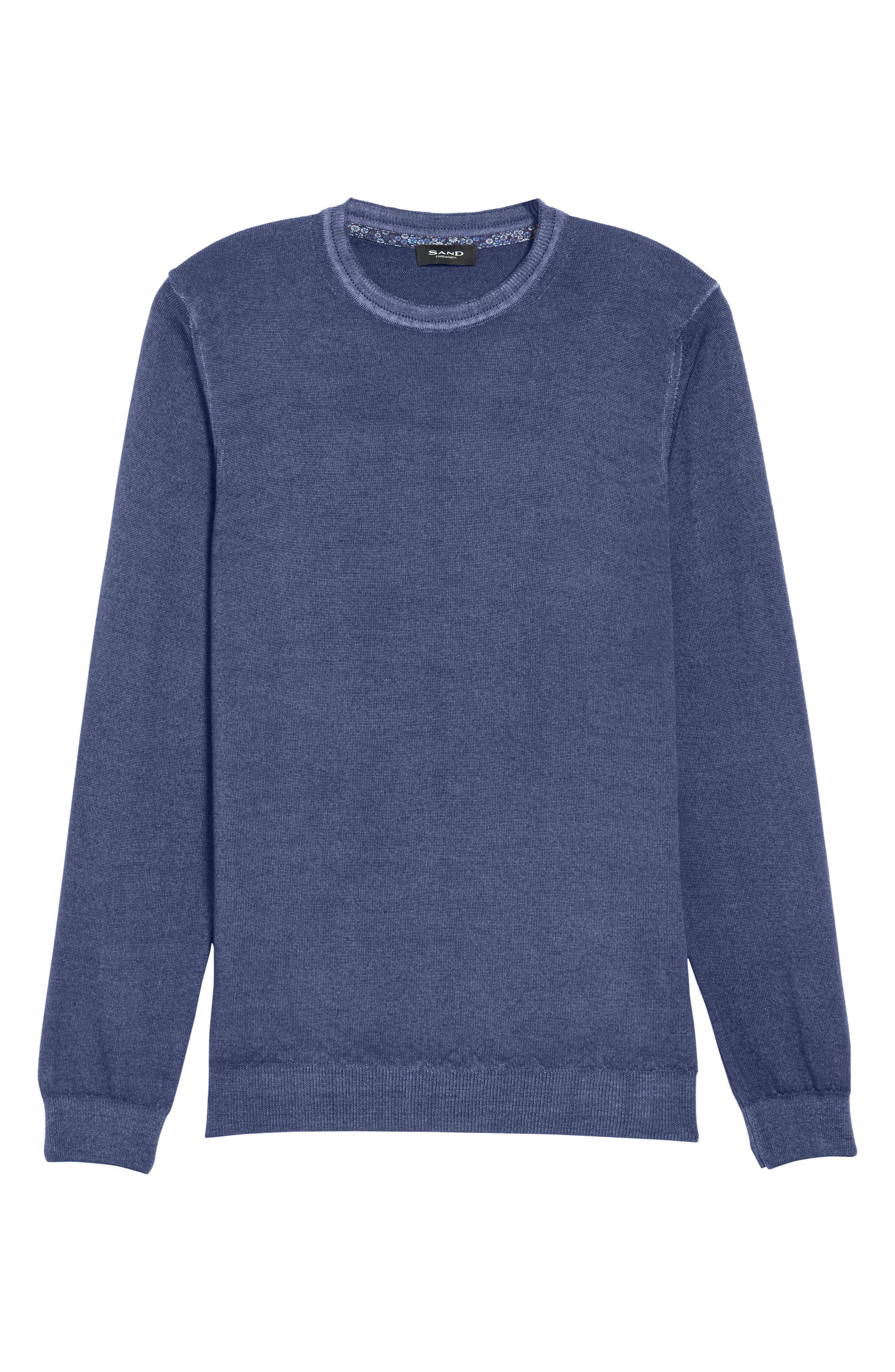 V-Neck Merino Wool Sweater,                             Alternate thumbnail 17, color,
