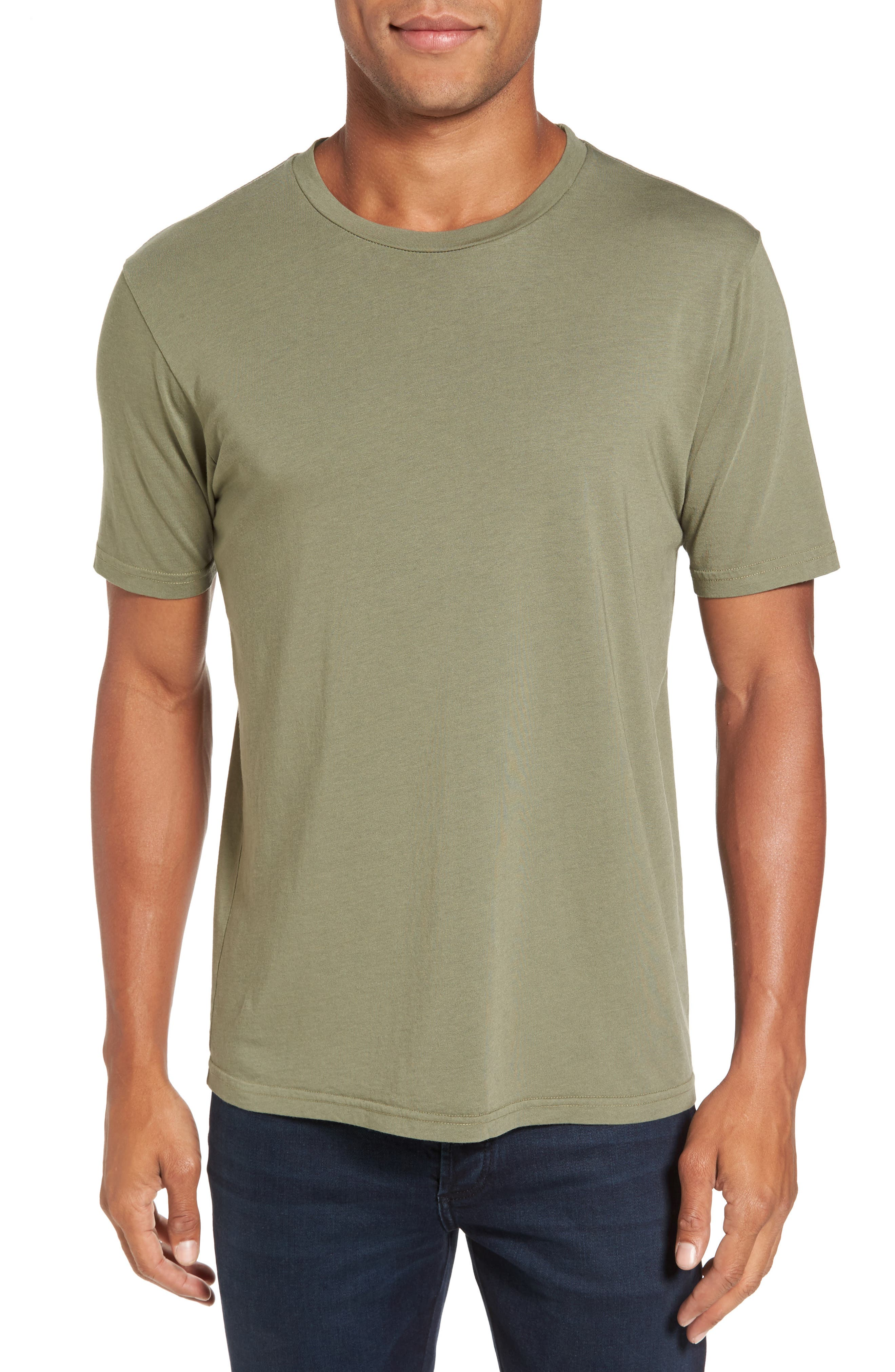 Crewneck T-Shirt,                         Main,                         color, 313