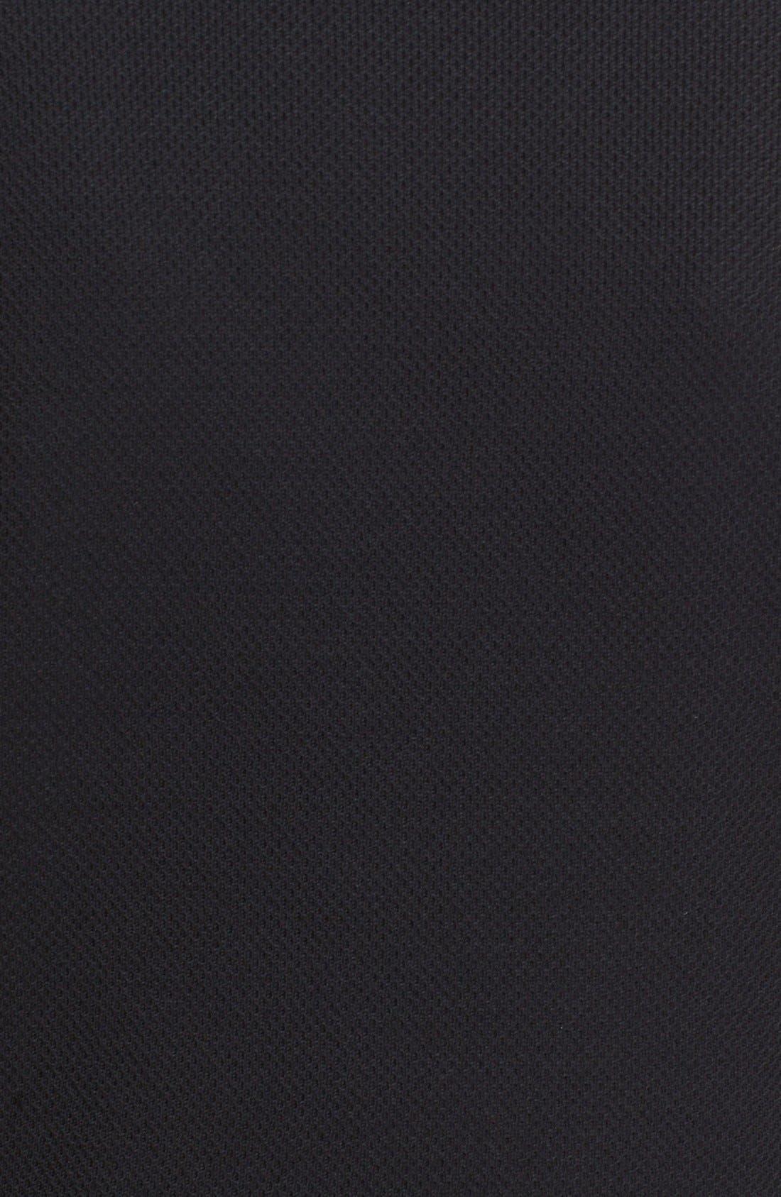 Micro Piqué Jacket,                             Alternate thumbnail 3, color,                             001