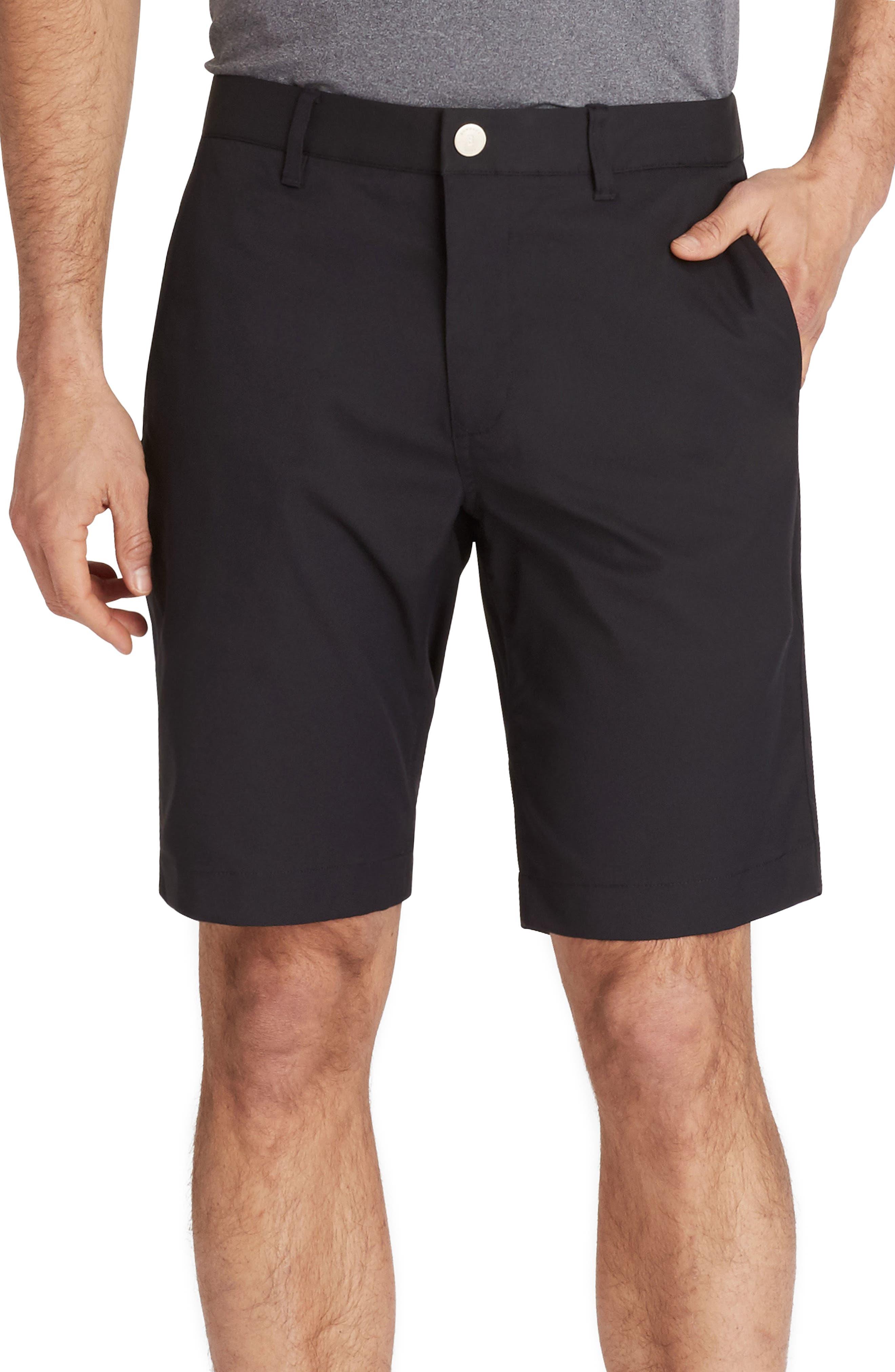 Highland Golf Shorts,                             Main thumbnail 1, color,                             BLACK