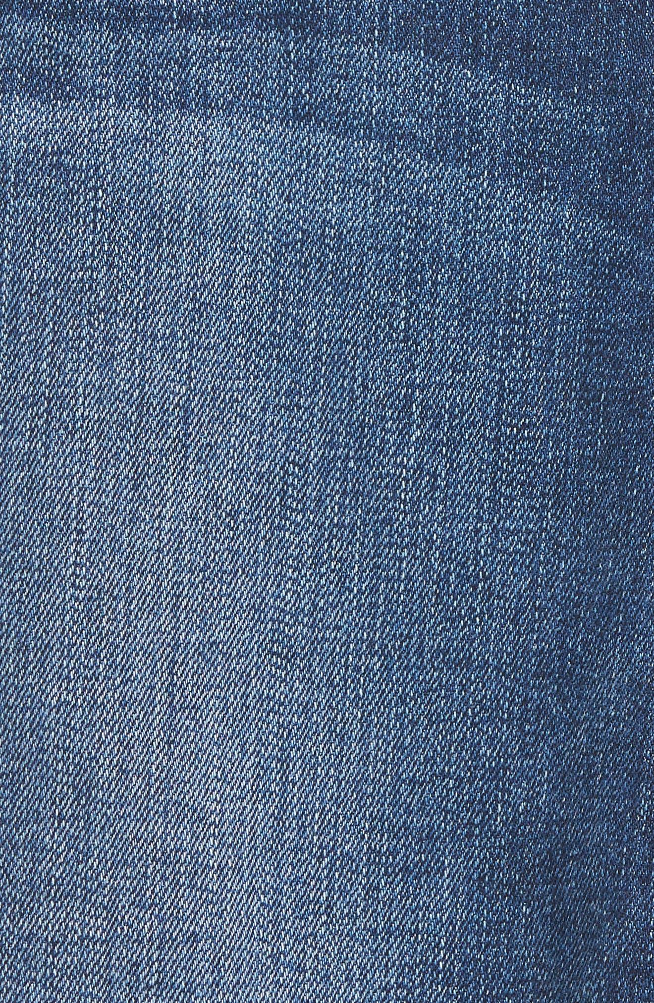 Nico Ankle Super Skinny Jeans,                             Alternate thumbnail 6, color,                             420