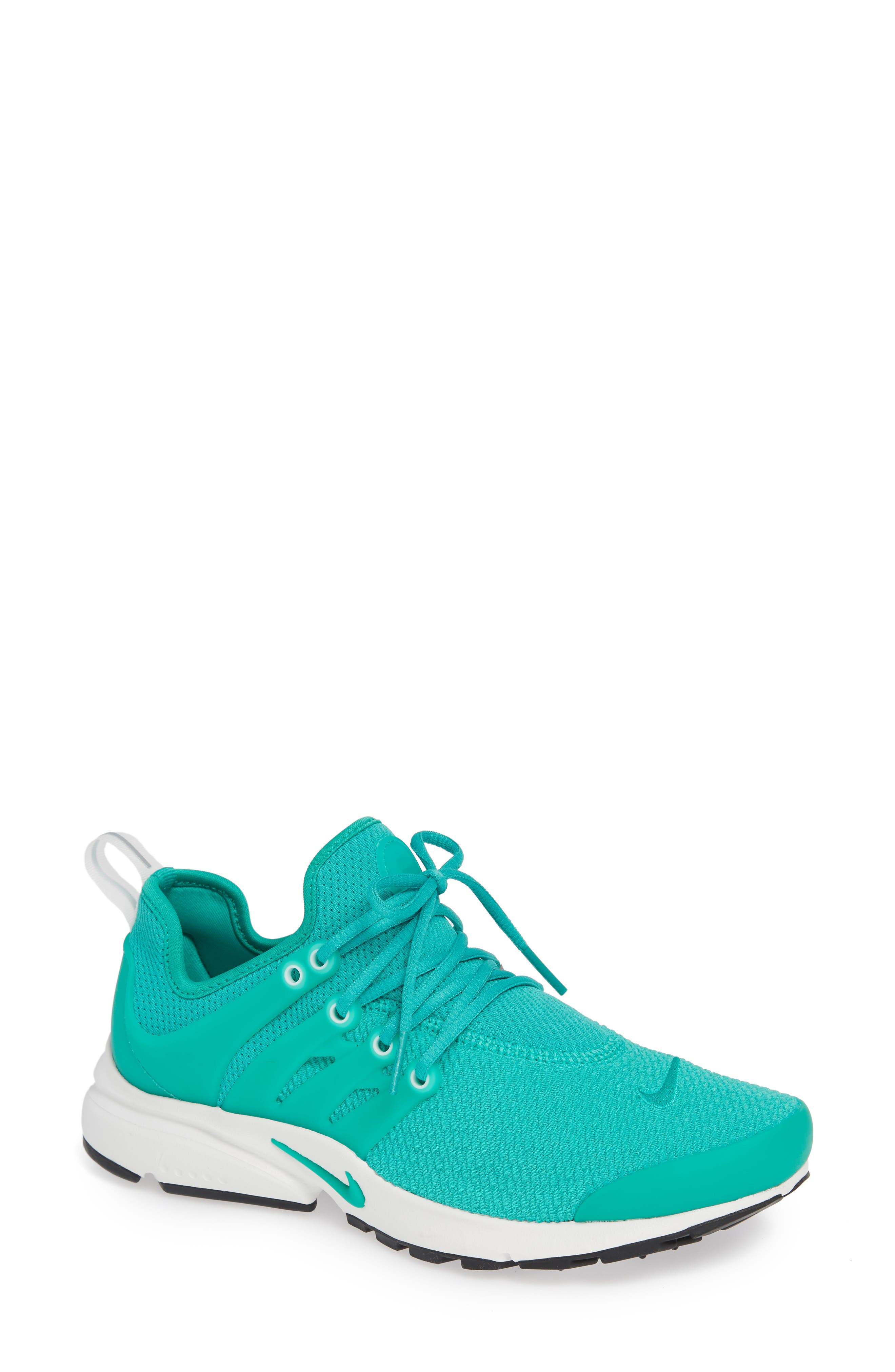 Air Presto Sneaker,                             Main thumbnail 1, color,                             CLEAR EMERALD/ SUMMIT WHITE